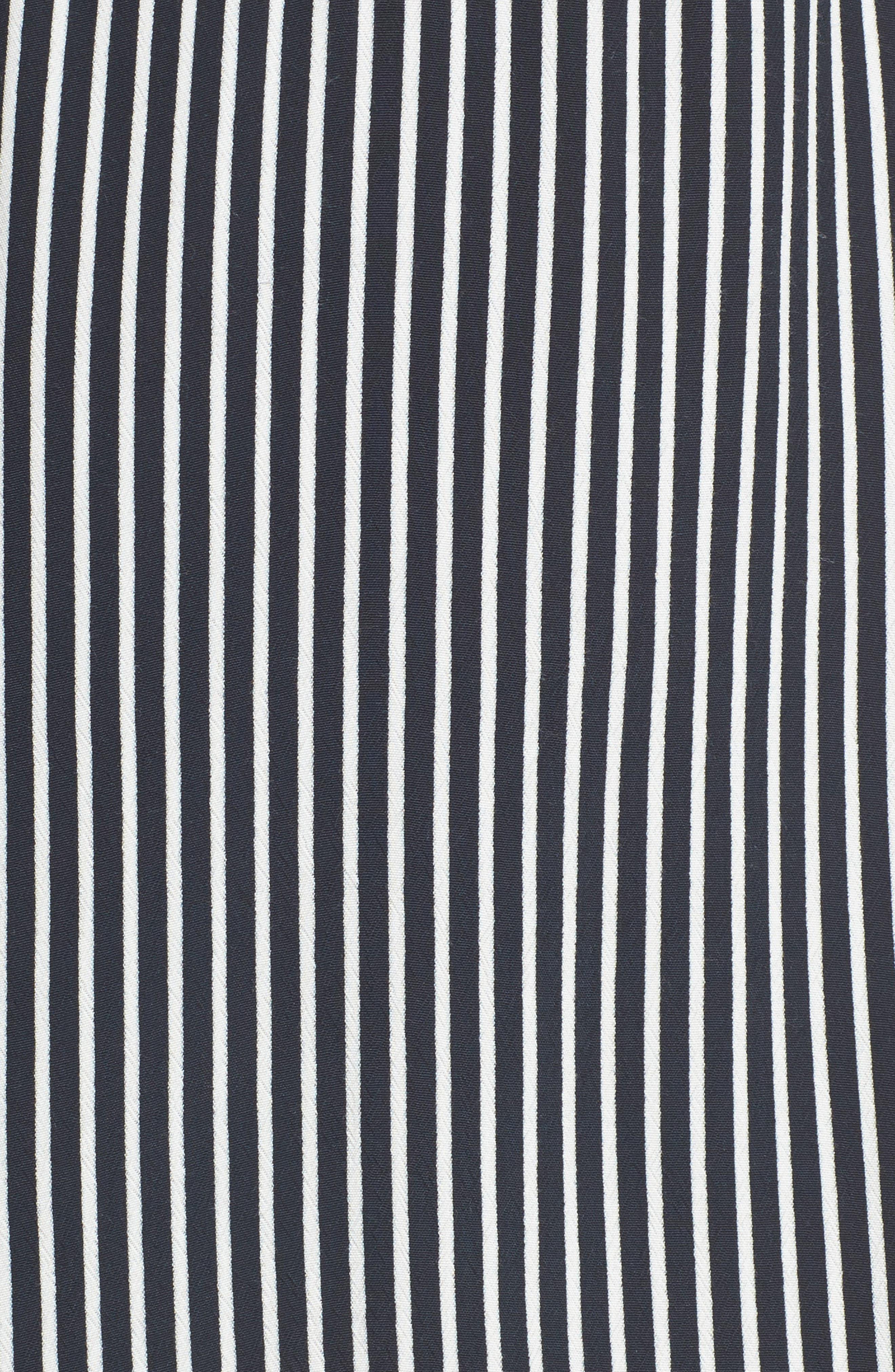 Neroli Stripe Dress,                             Alternate thumbnail 6, color,                             400