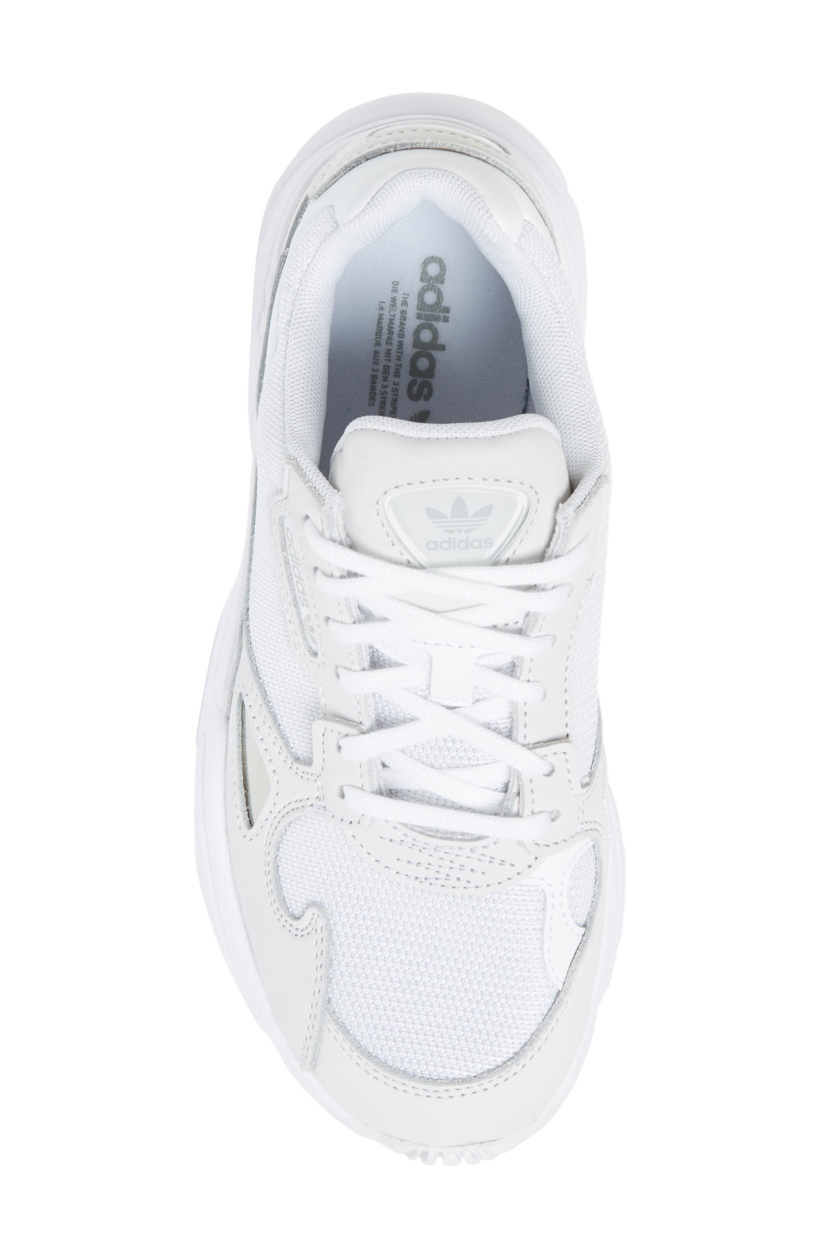Falcon Sneaker,                             Alternate thumbnail 5, color,                             WHITE