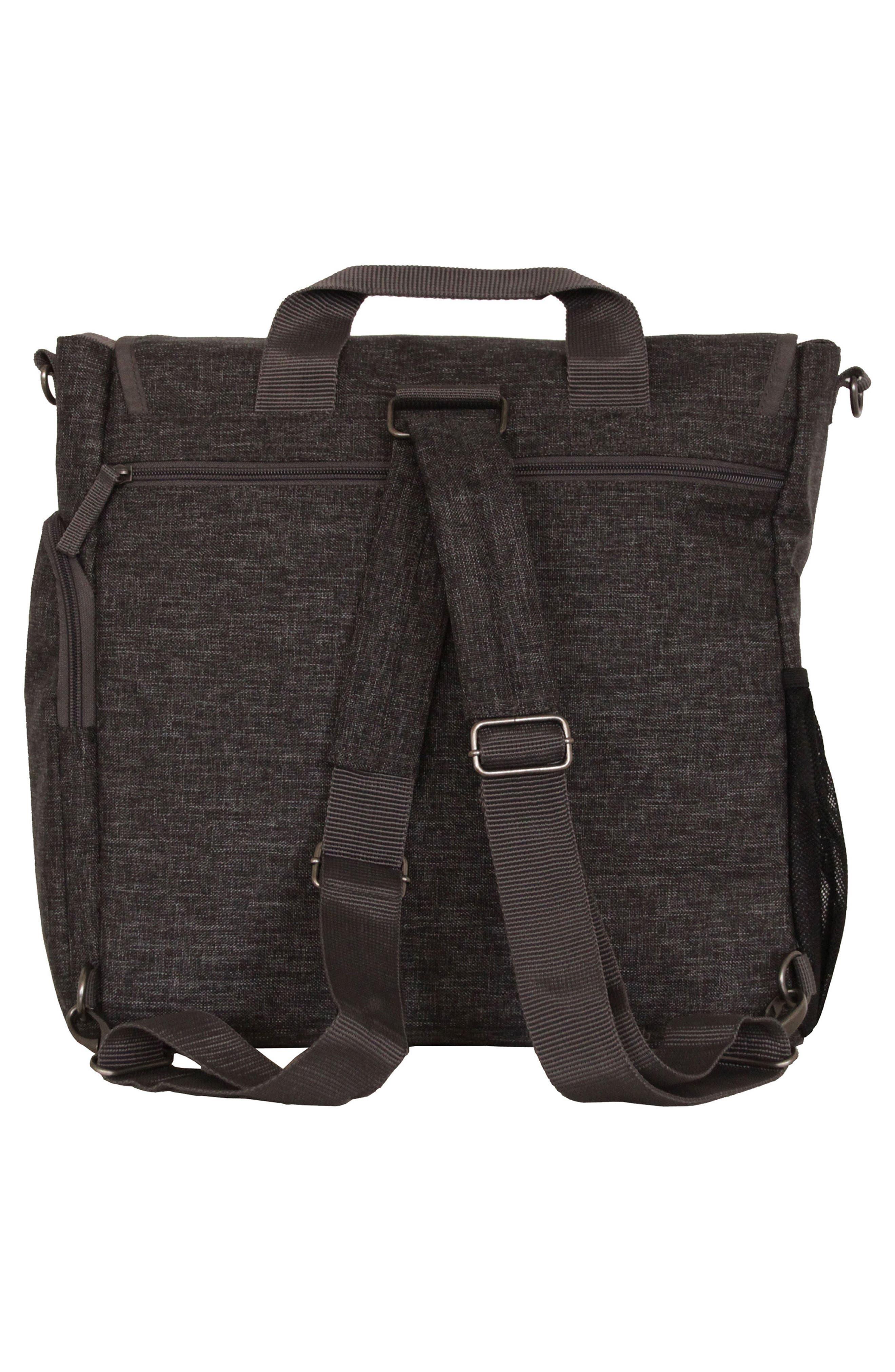 Convertible Diaper Backpack,                             Alternate thumbnail 2, color,                             001
