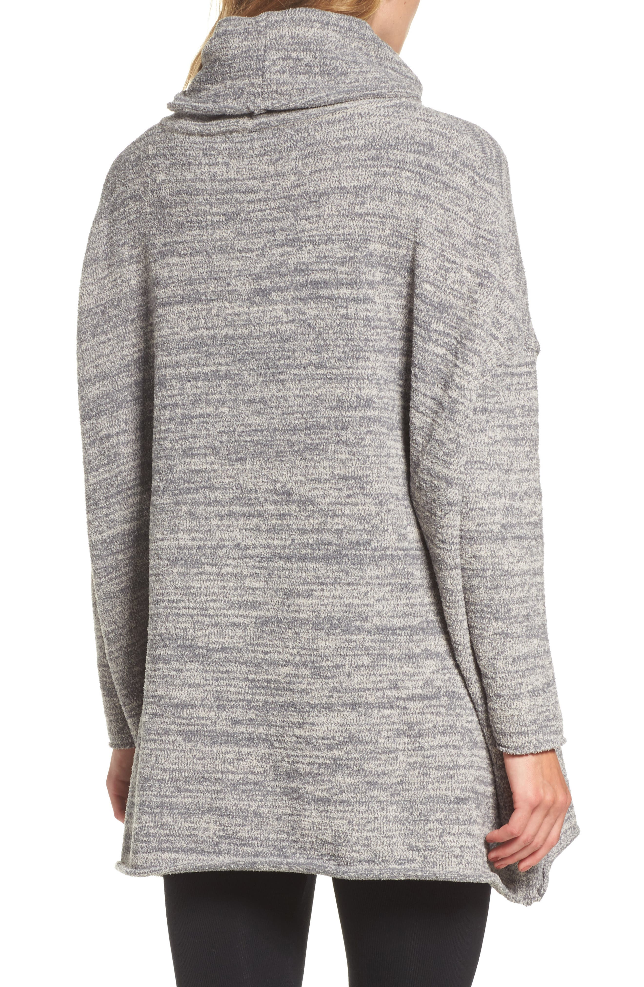 Cozychic<sup>®</sup> Lounge Pullover,                             Alternate thumbnail 2, color,                             GRAPHITE/ STONE HEATHERED