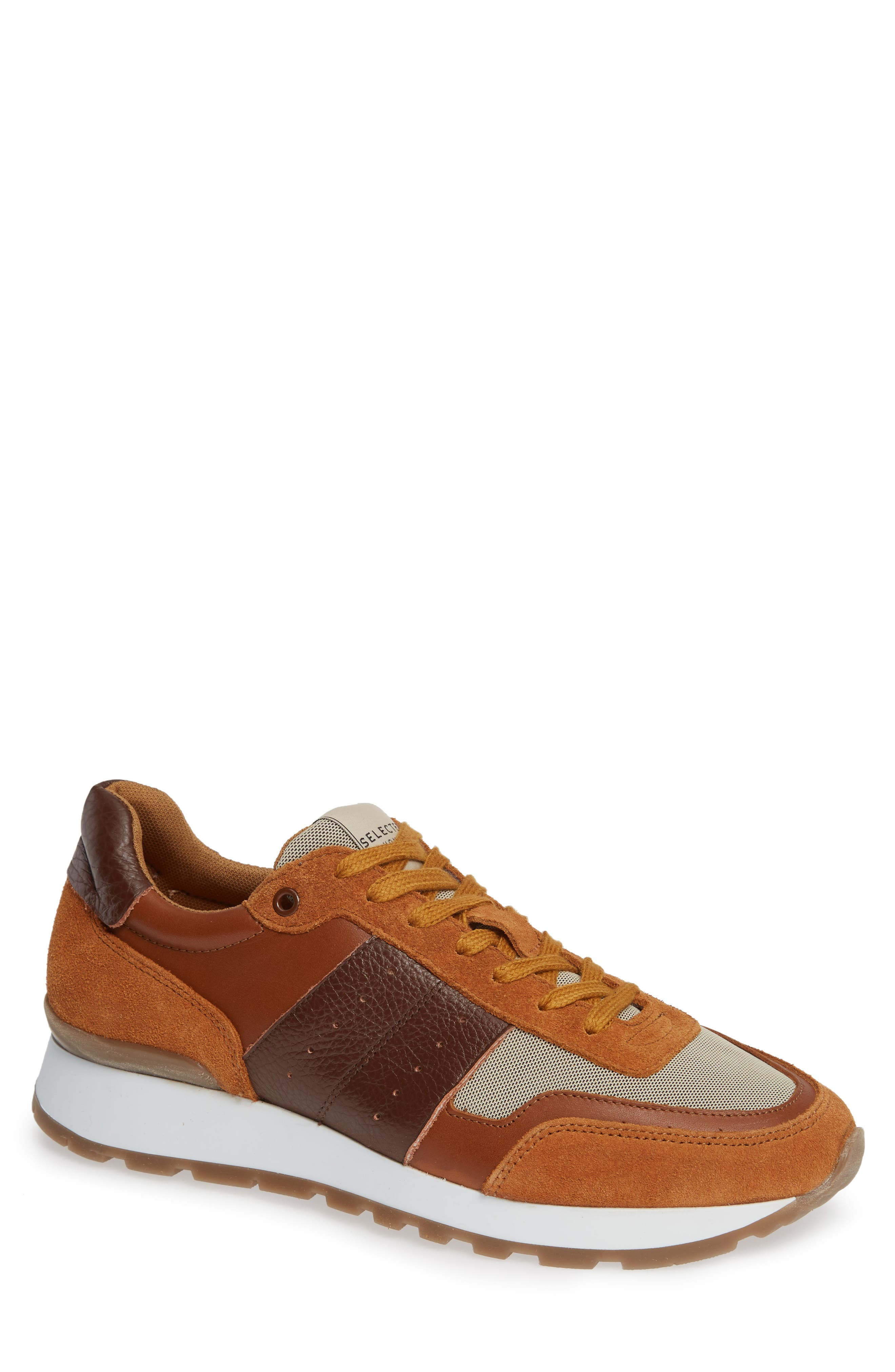 Frank Mix Sneaker,                             Main thumbnail 1, color,                             GLAZED GINGER