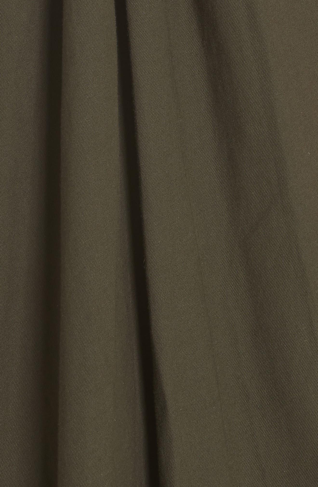VINCE,                             Twist Front Dress,                             Alternate thumbnail 5, color,                             359
