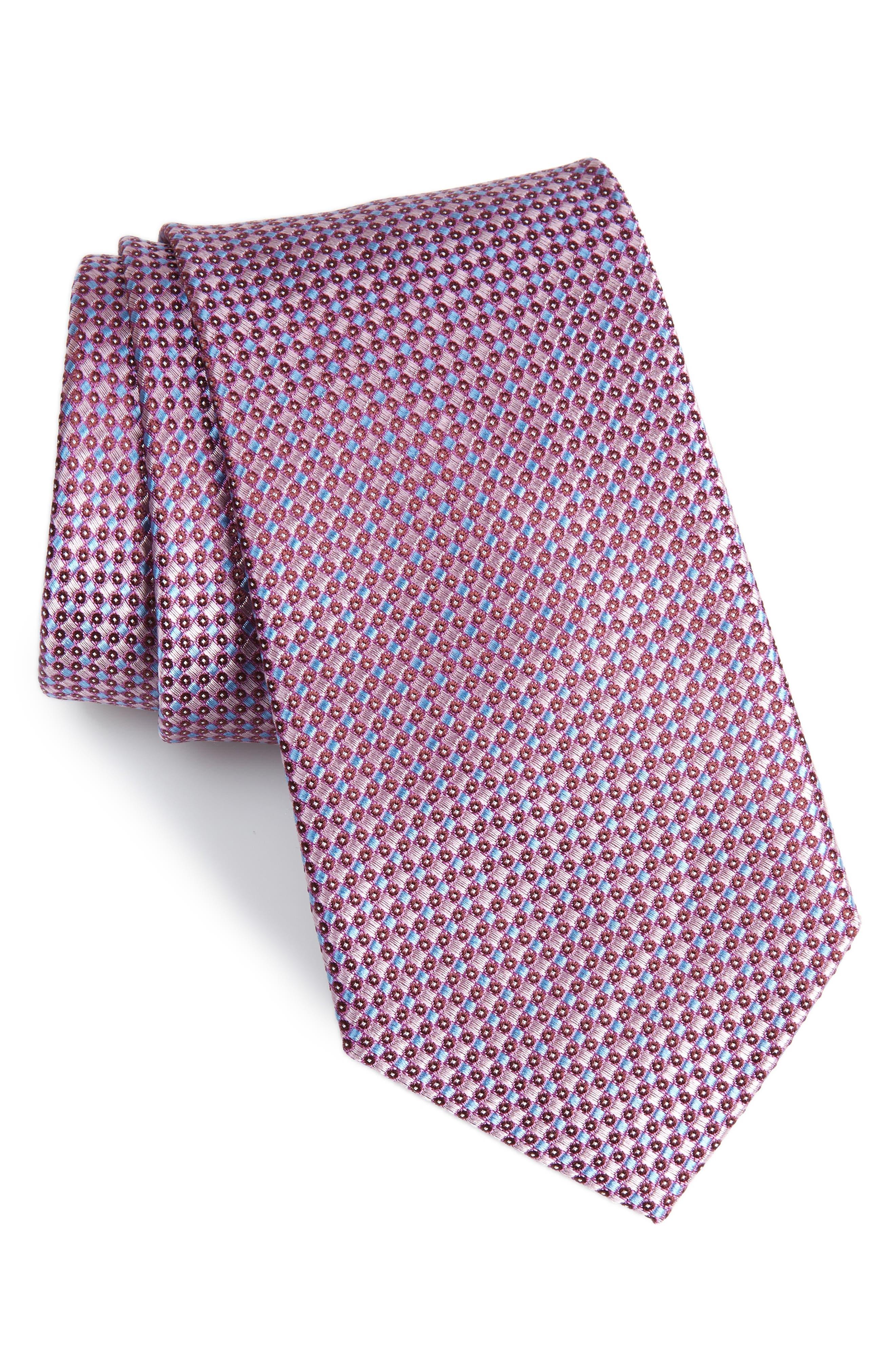 Bagni Check Tie,                             Main thumbnail 3, color,