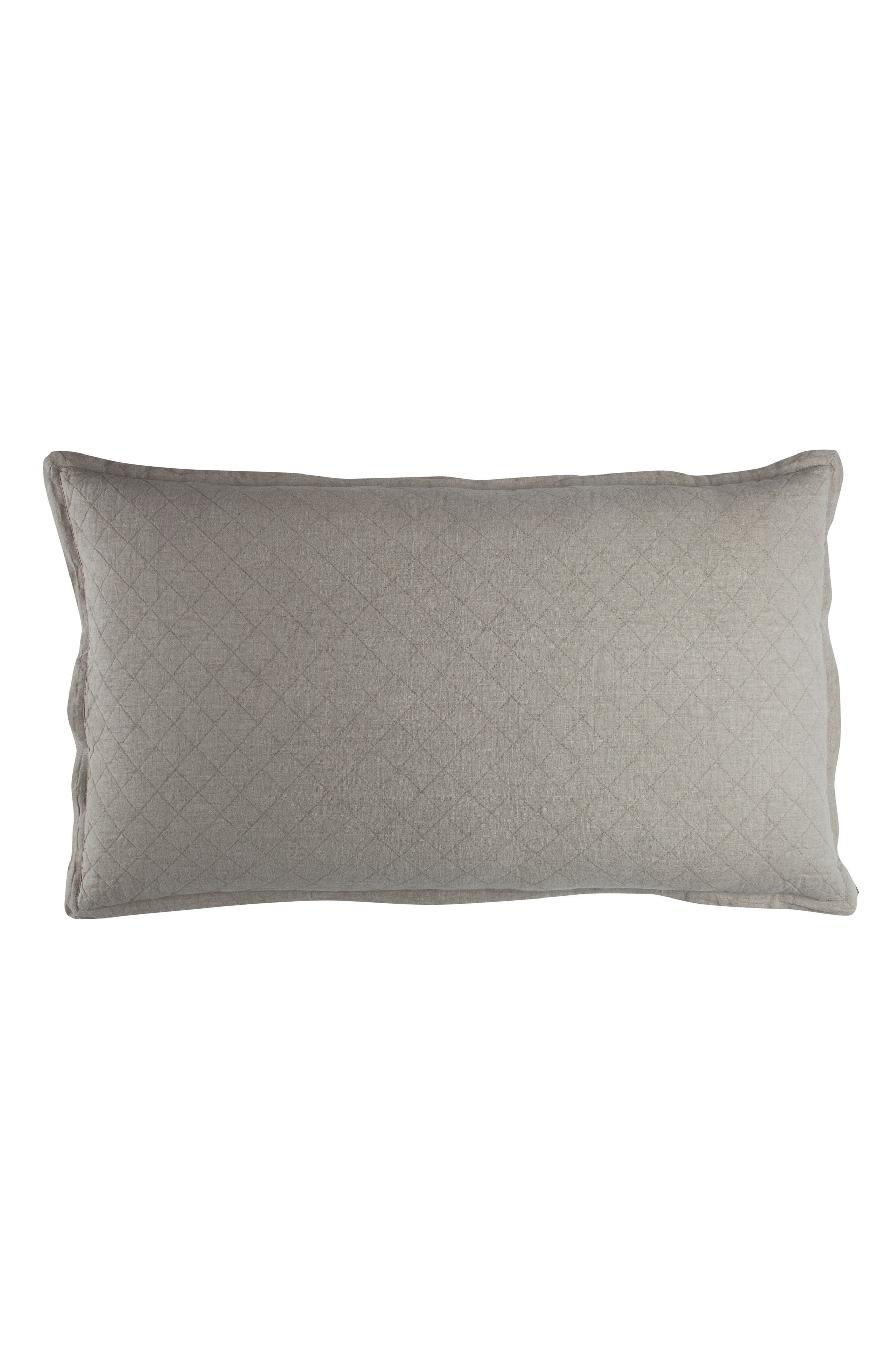 Emily Diamond Quilted Sham,                             Alternate thumbnail 3, color,                             020