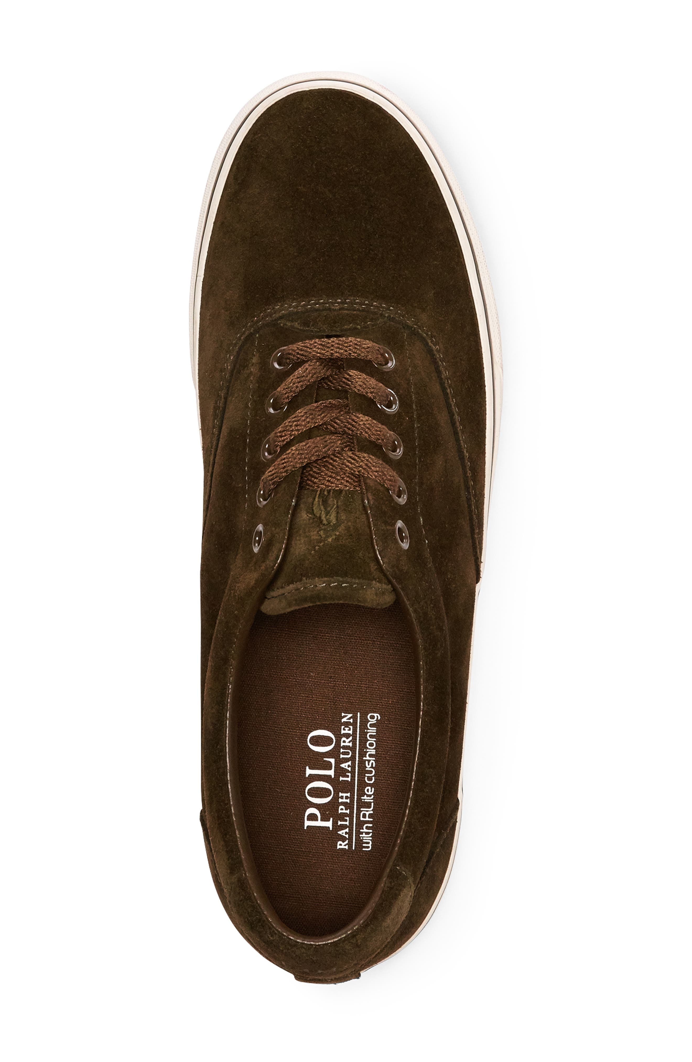 Thorton Sneaker,                             Alternate thumbnail 3, color,                             DEEP OLIVE SUEDE