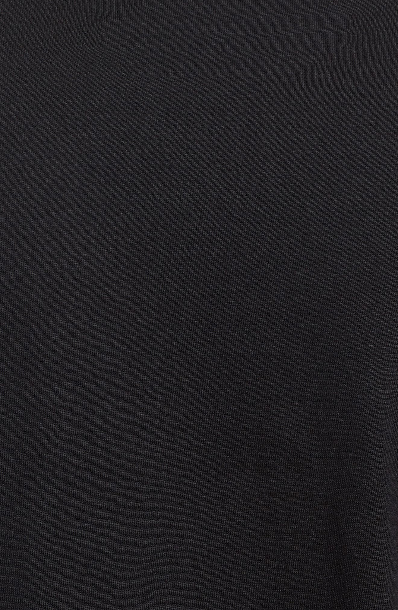 Port Logo Graphic Long Sleeve T-Shirt,                             Alternate thumbnail 5, color,                             010