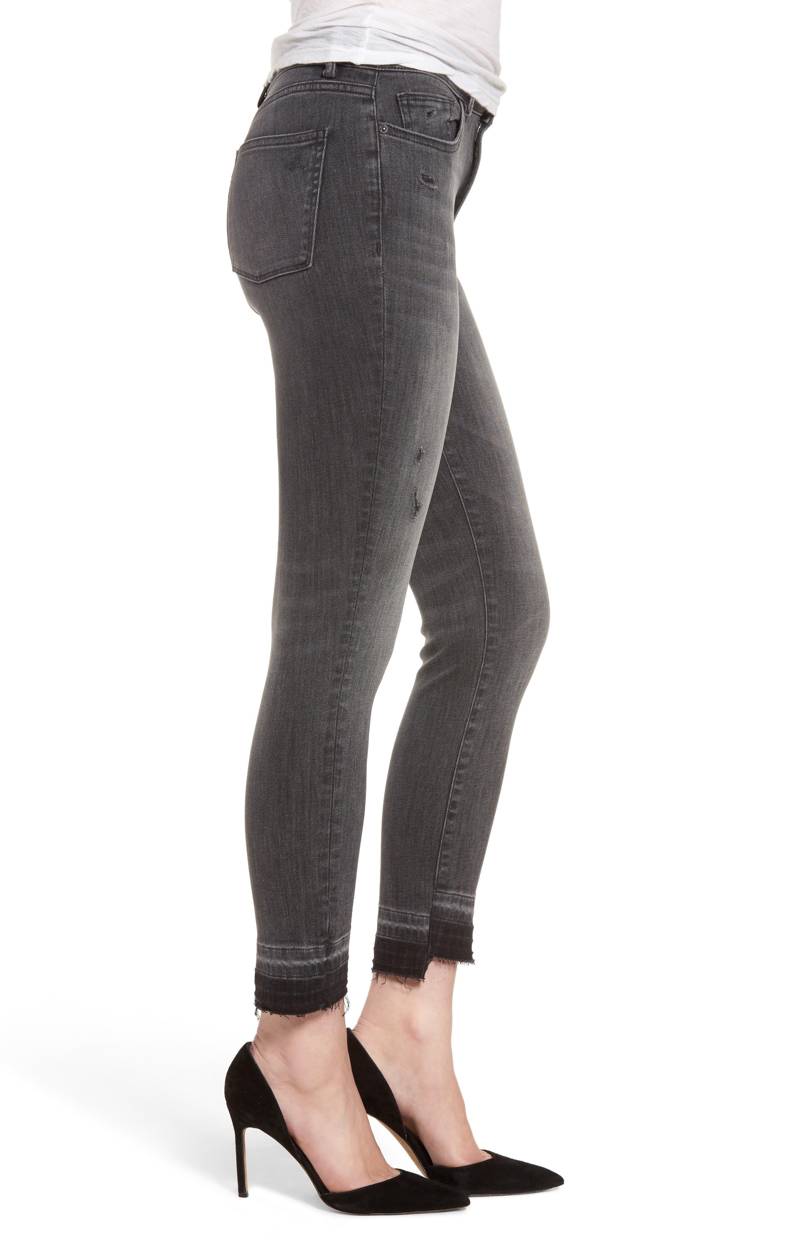 Farrow High Waist Instaslim Skinny Jeans,                             Alternate thumbnail 3, color,                             020