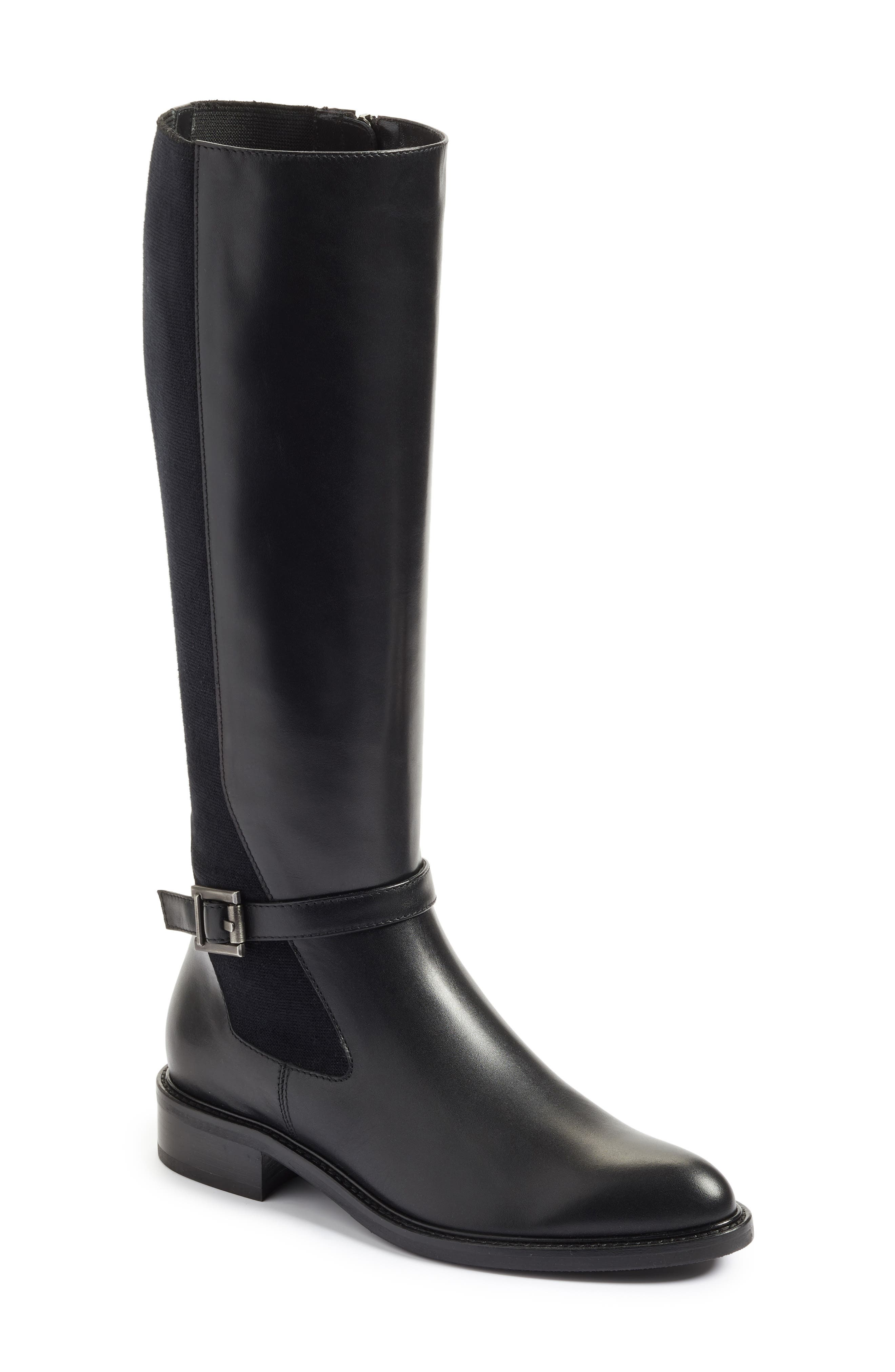 Genna Weatherproof Tall Boot,                             Main thumbnail 1, color,                             001