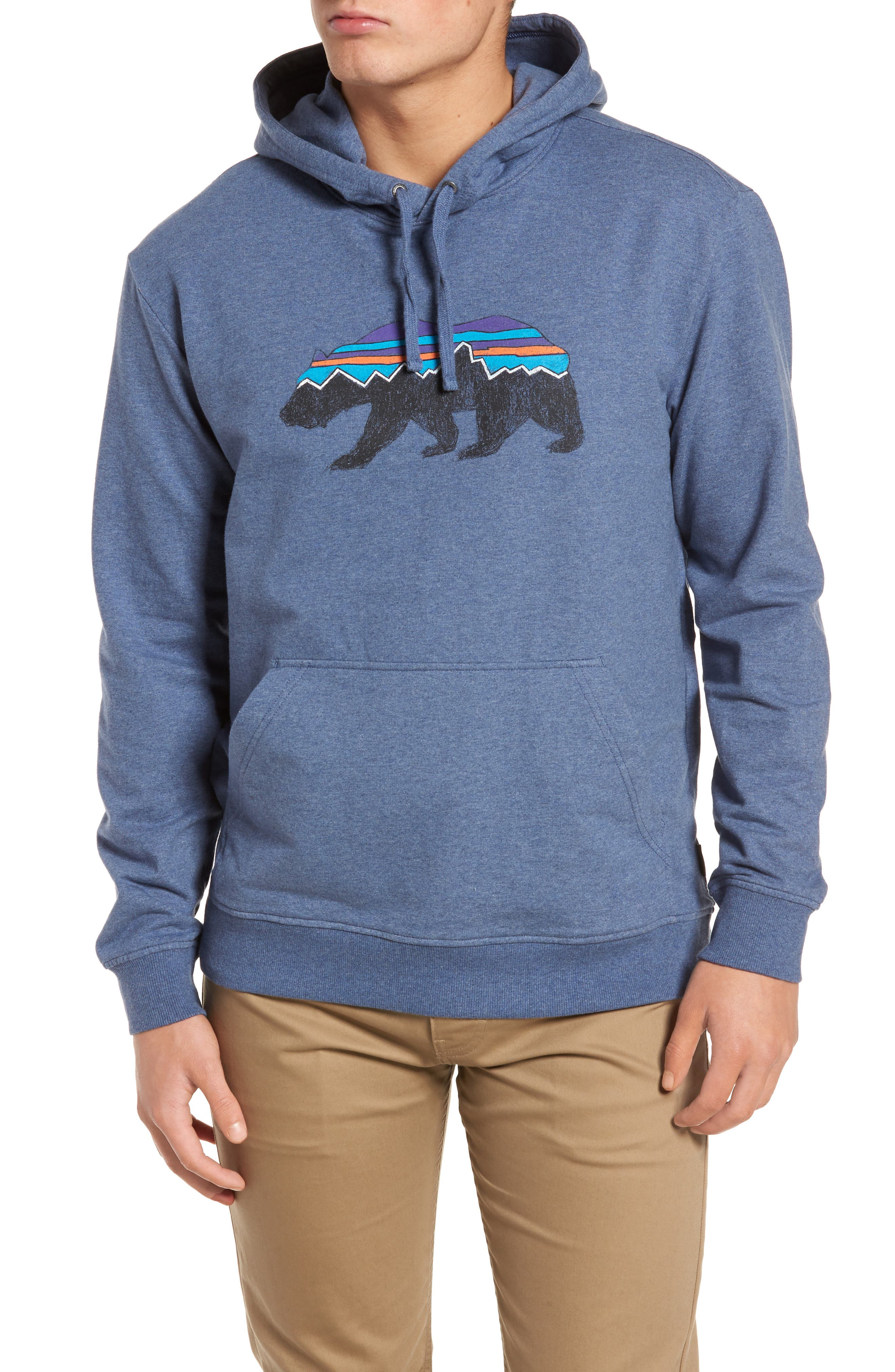 Fitz Roy Bear Graphic Hoodie,                             Main thumbnail 4, color,