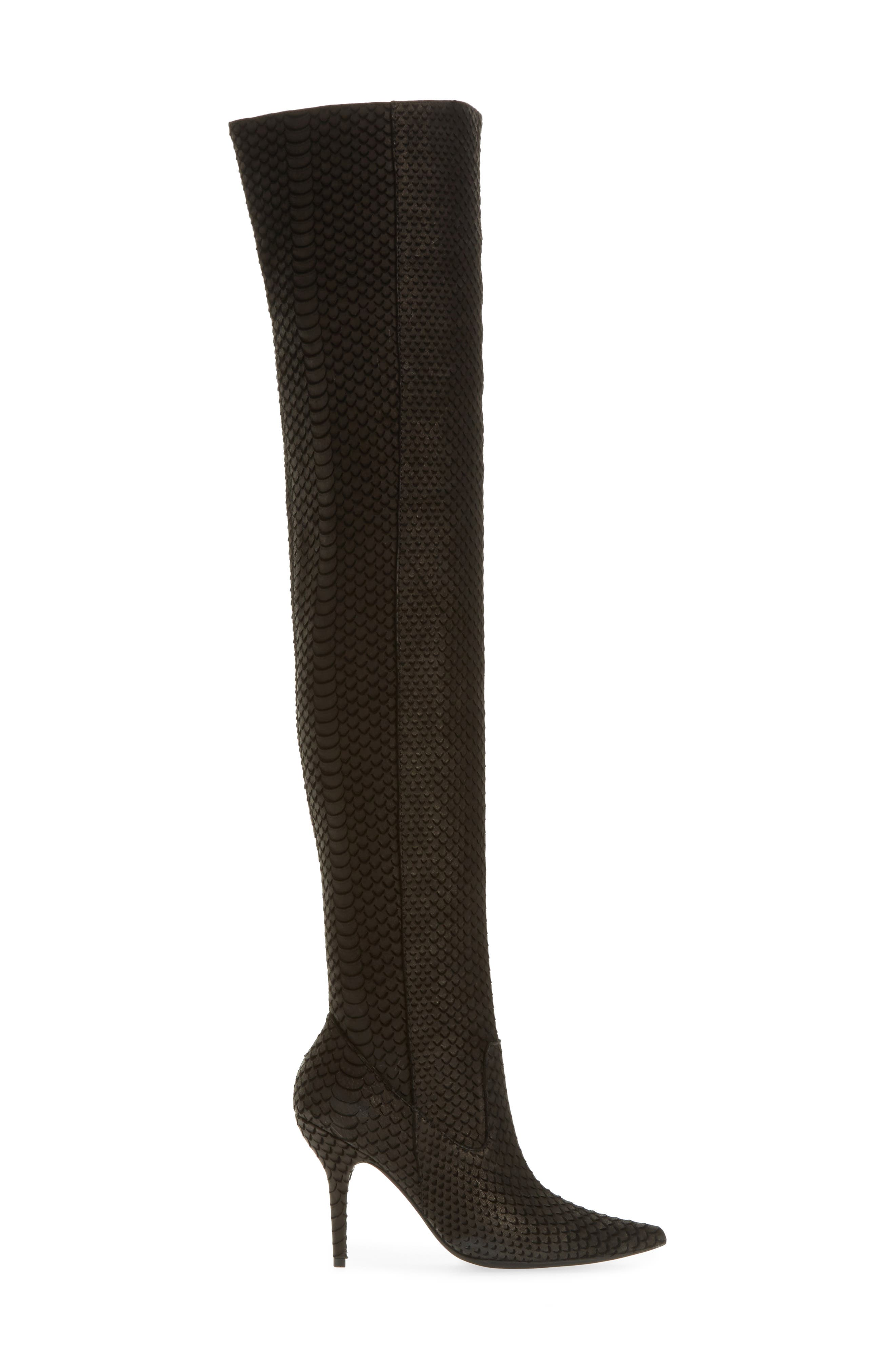 Galactic Thigh High Boot,                             Alternate thumbnail 3, color,                             001