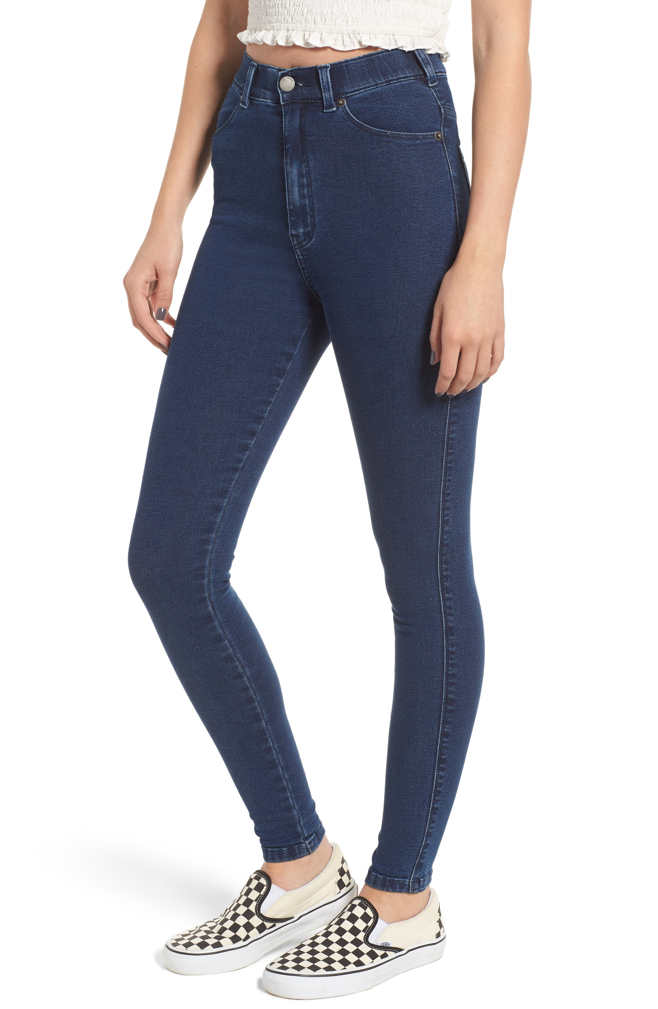 Moxy Skinny Jeans,                         Main,                         color, 400