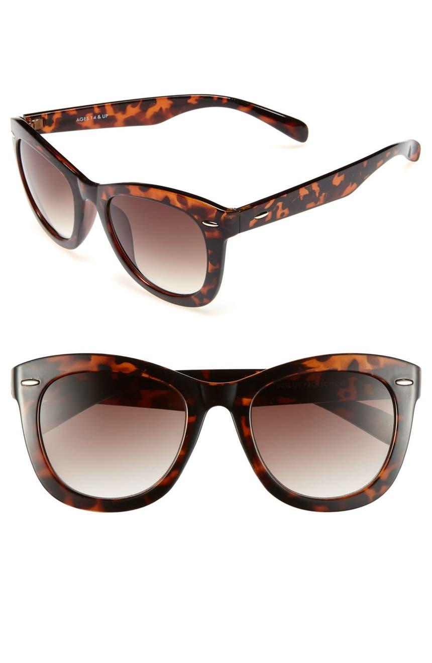 808f552739 Fantas Eyes Tortoise S Cat Eye 52mm Sungl Juniors Nordstrom