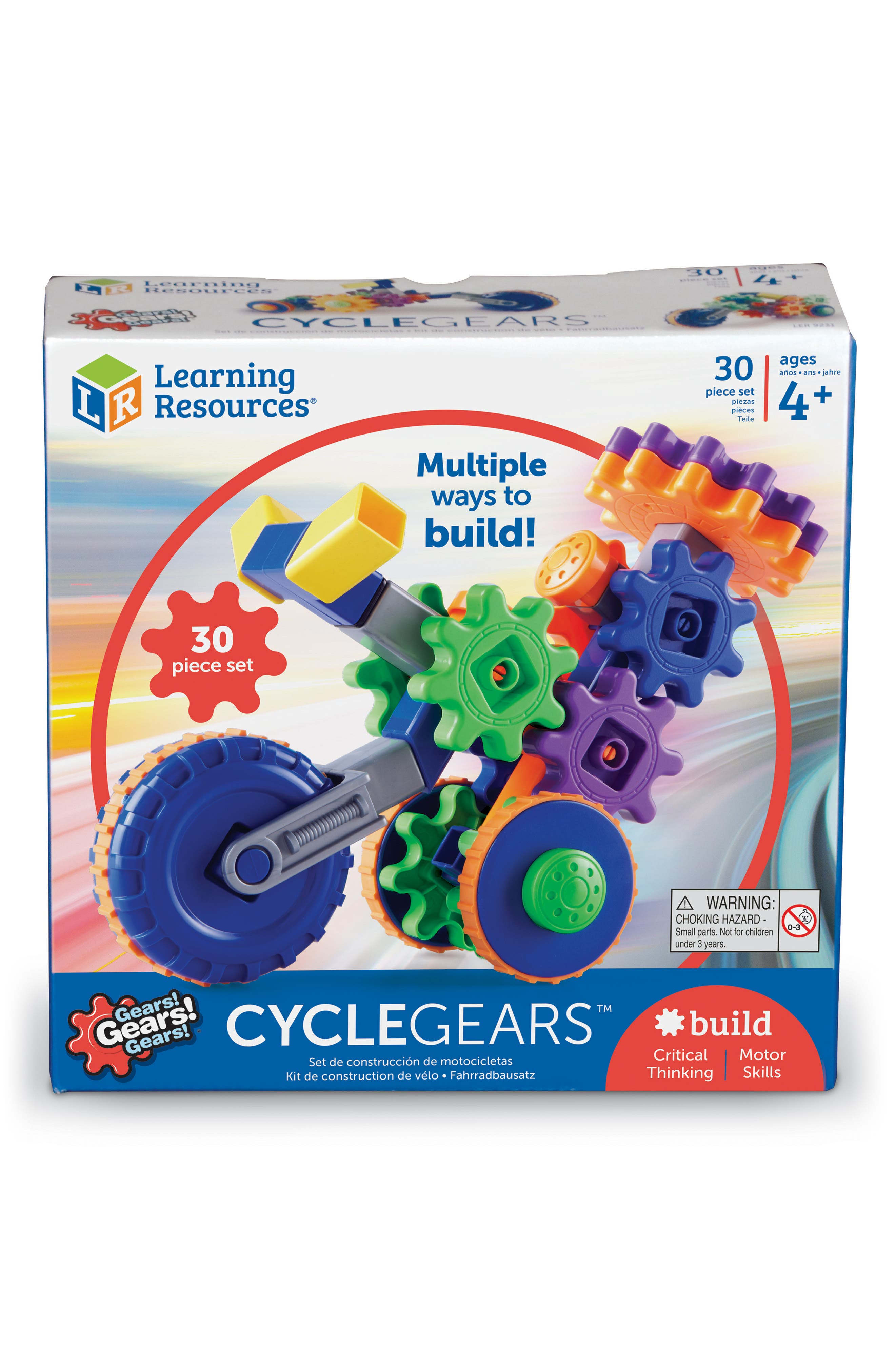 Gears! Gears! Gears!<sup>®</sup> Cycle Gears<sup>™</sup> Building Kit,                             Alternate thumbnail 2, color,                             960