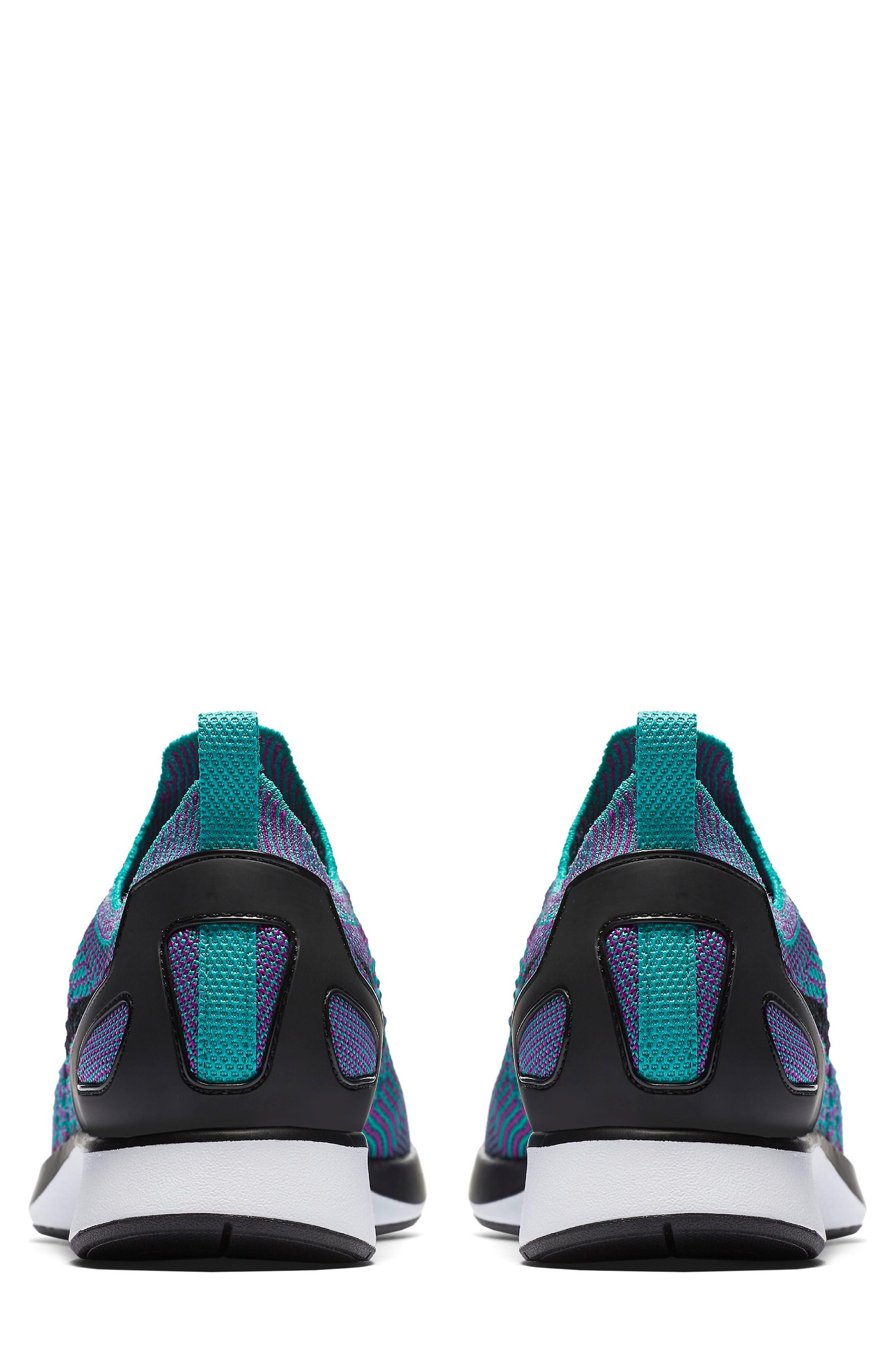Air Zoom Mariah Flyknit Racer Sneaker,                             Alternate thumbnail 2, color,                             CLEAR JADE/ BLACK