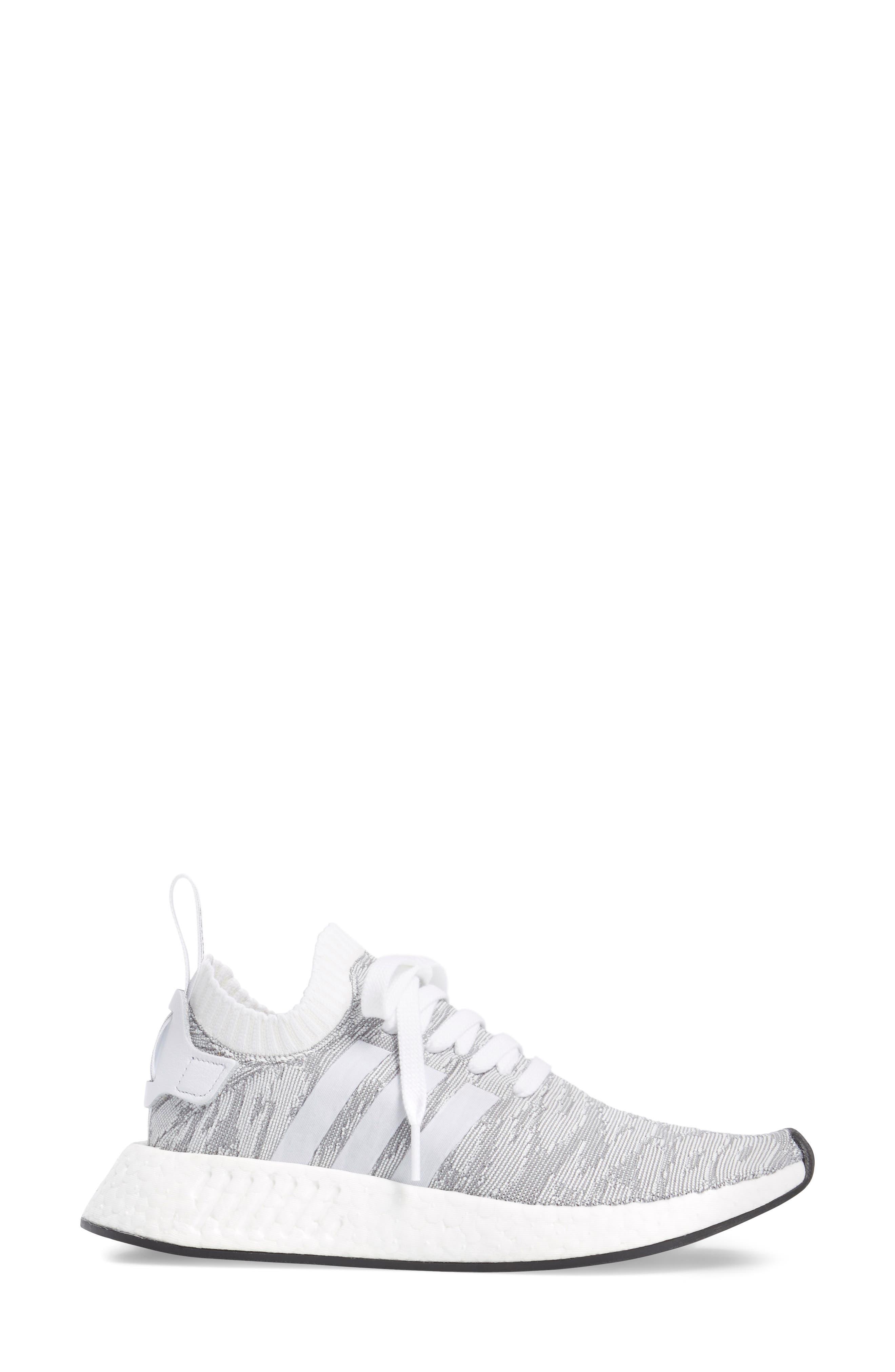 NMD R2 Primeknit Athletic Shoe,                             Alternate thumbnail 13, color,