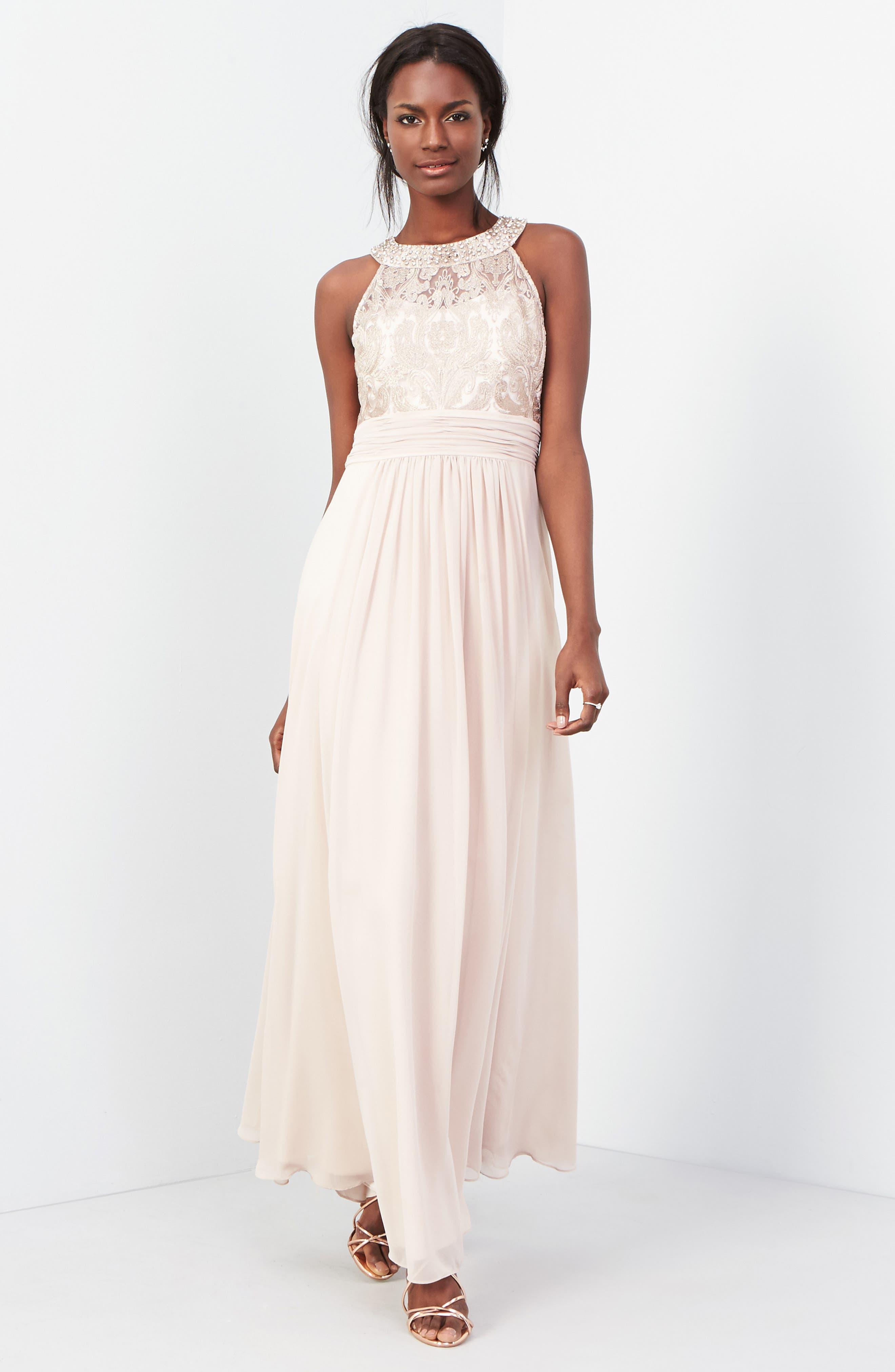 Lace Bodice Gown,                             Alternate thumbnail 19, color,