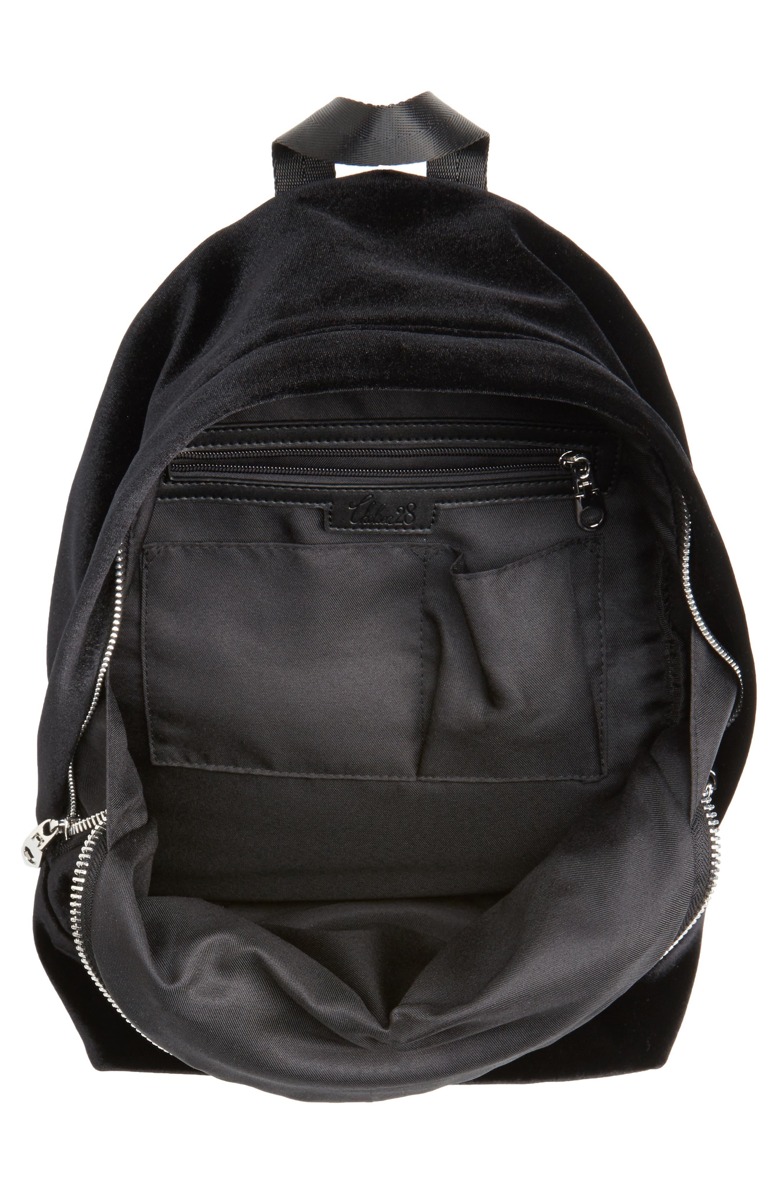 Velvet Backpack,                             Alternate thumbnail 4, color,                             001