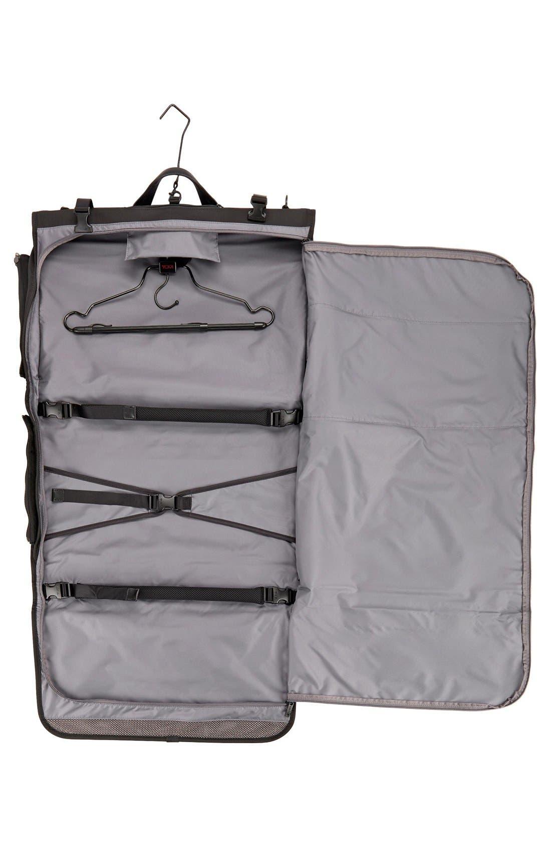 Alpha 2 22-Inch Trifold Carry-On Garment Bag,                             Alternate thumbnail 5, color,                             BLACK