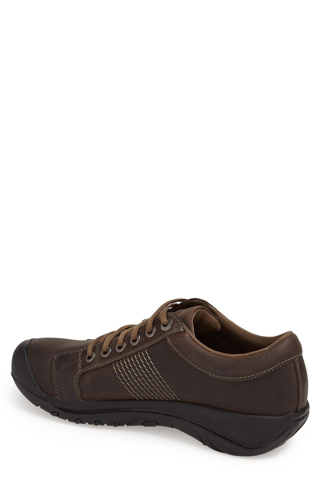 'Austin' Sneaker,                             Alternate thumbnail 2, color,                             CHOCOLATE BROWN