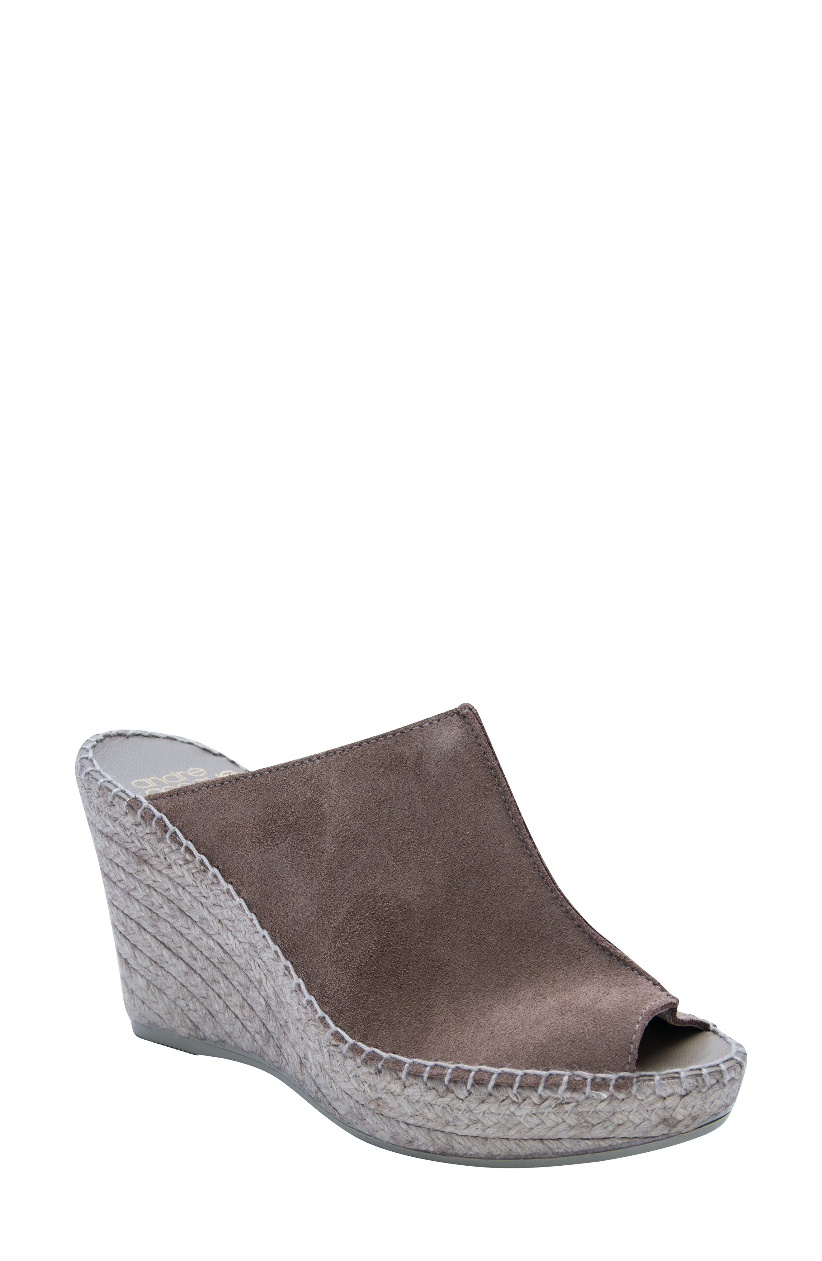 Andre Assous Cici Espadrille Wedge, Brown