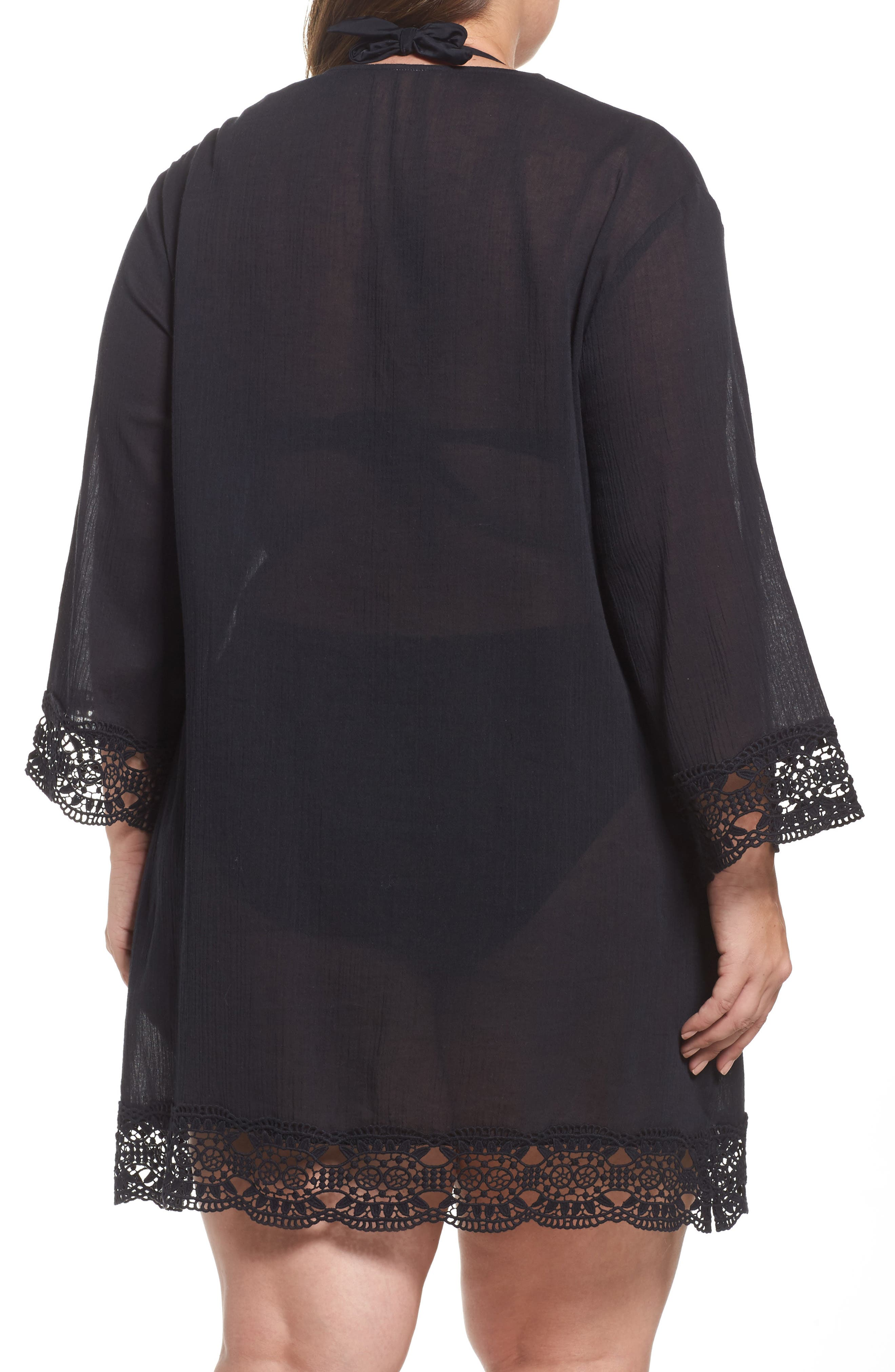 Island Fare Cover-Up Tunic,                             Alternate thumbnail 2, color,                             001