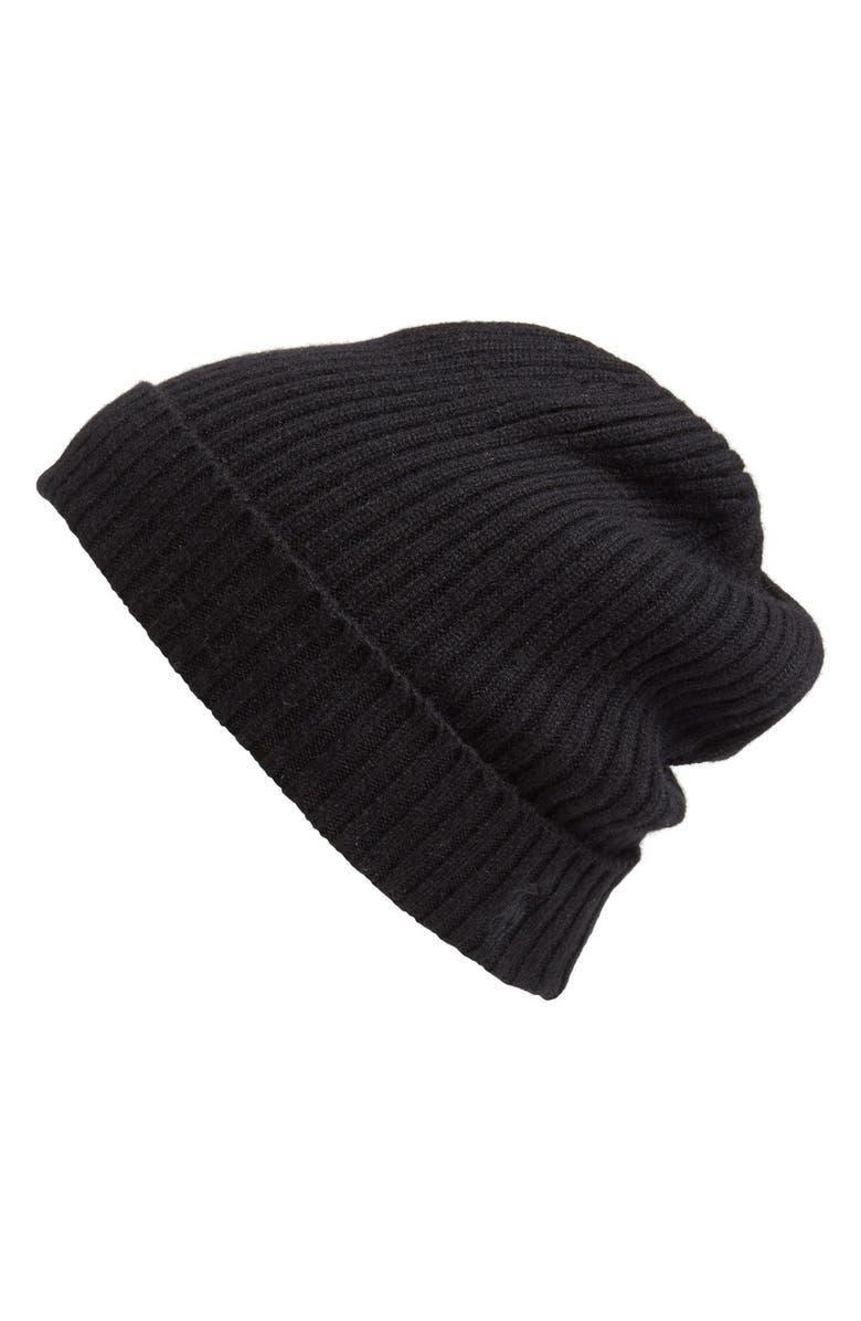 Polo Ralph Lauren Cashmere   Wool Rib Knit Beanie  229870fa209