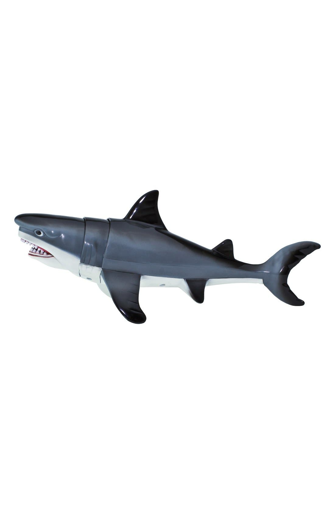Jaw Snapping Great White Shark Figurine,                             Main thumbnail 1, color,                             NO COLOR