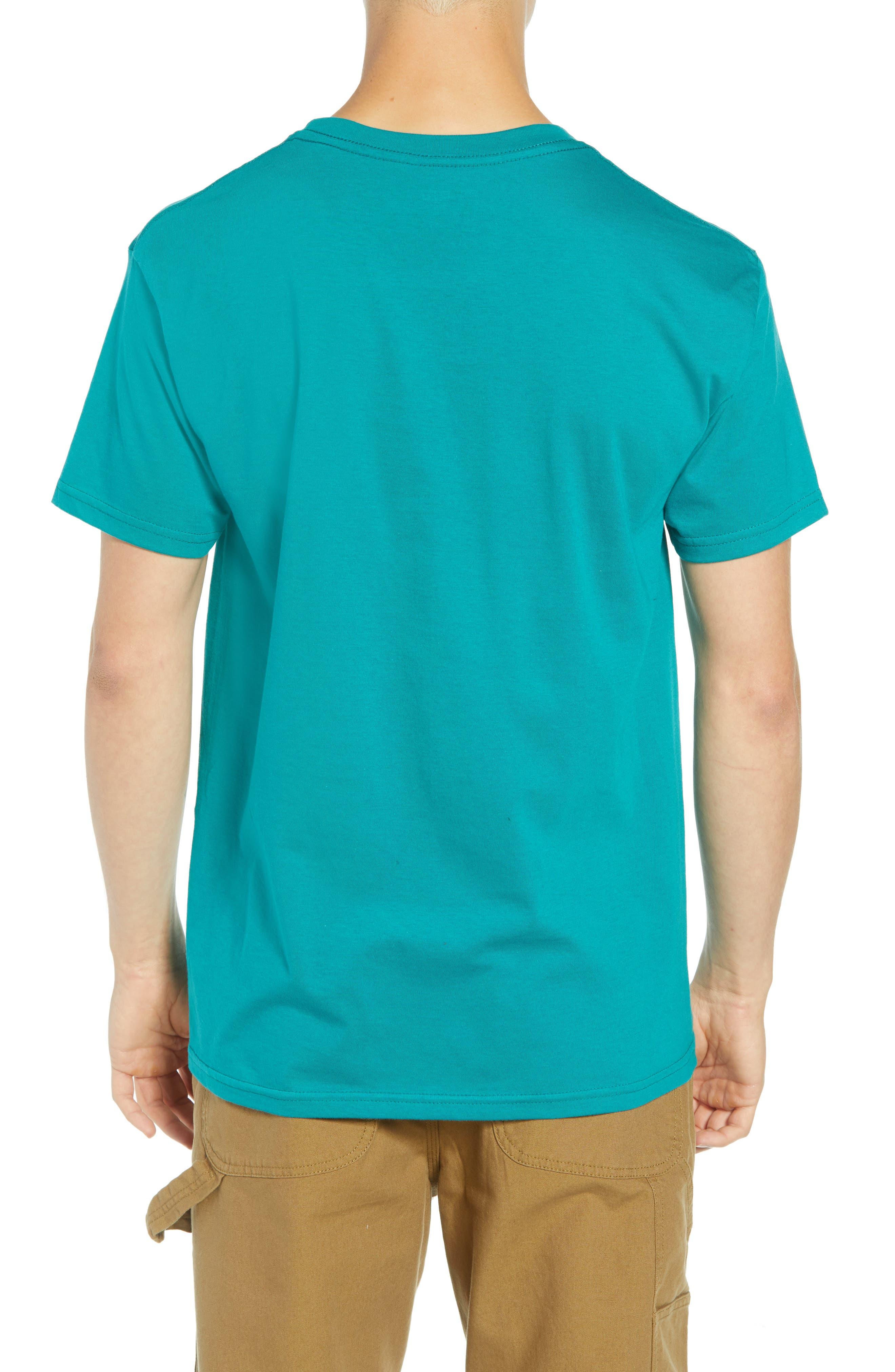 Metamorphosis Premium T-Shirt,                             Alternate thumbnail 2, color,                             TEAL