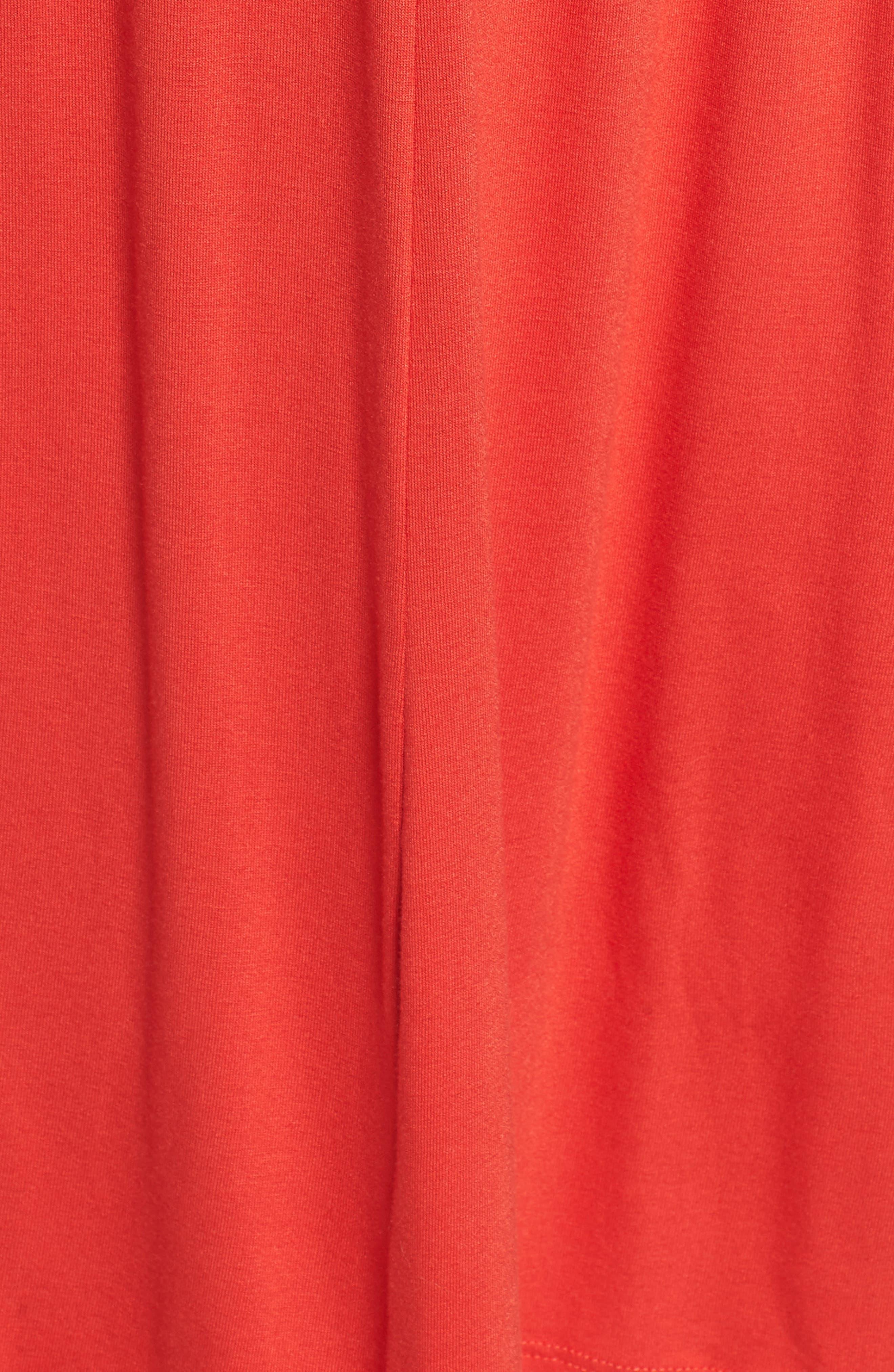 Jersey A-Line Dress,                             Alternate thumbnail 6, color,                             950