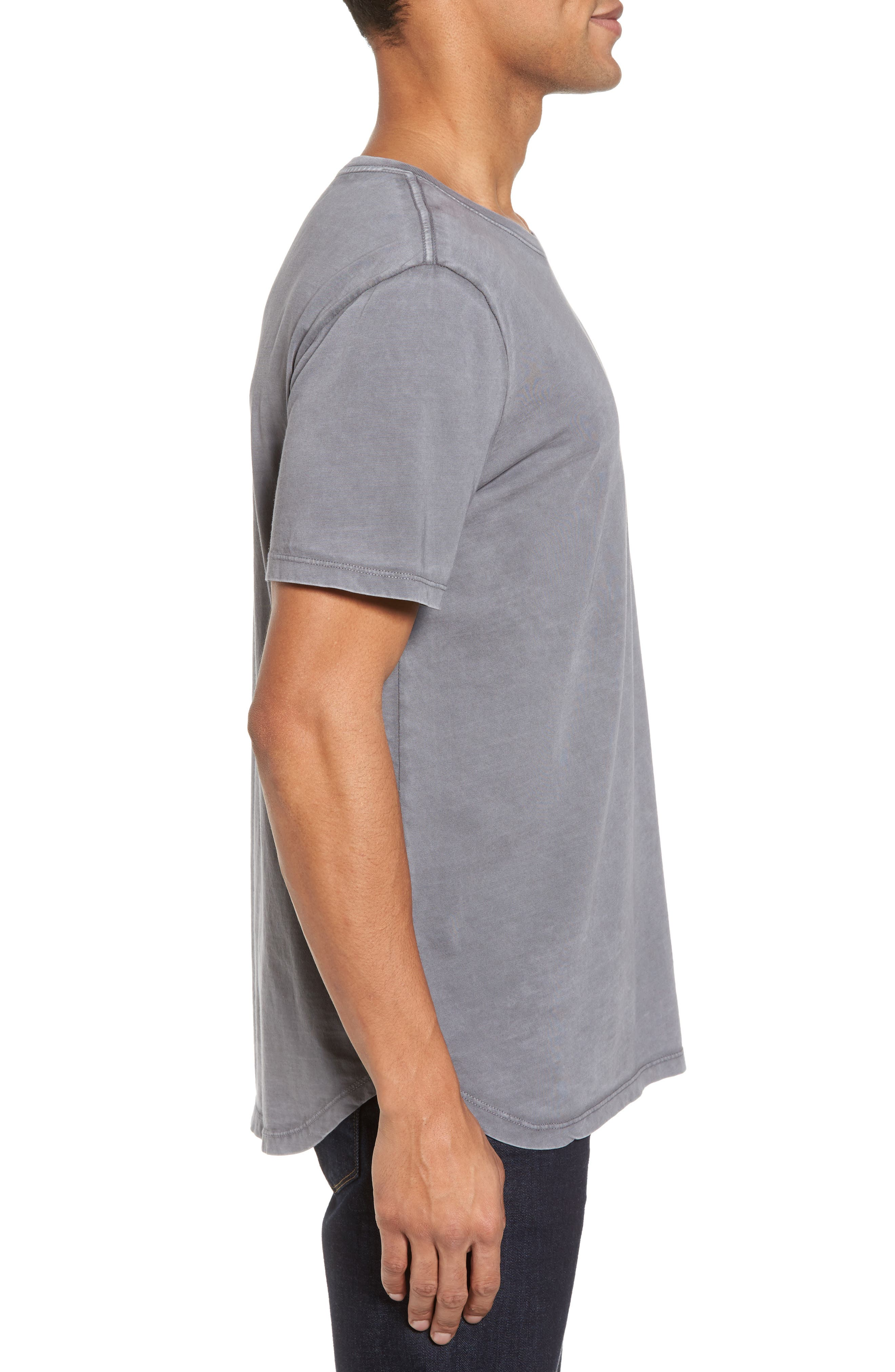 Bradley Longline T-Shirt,                             Alternate thumbnail 3, color,                             091