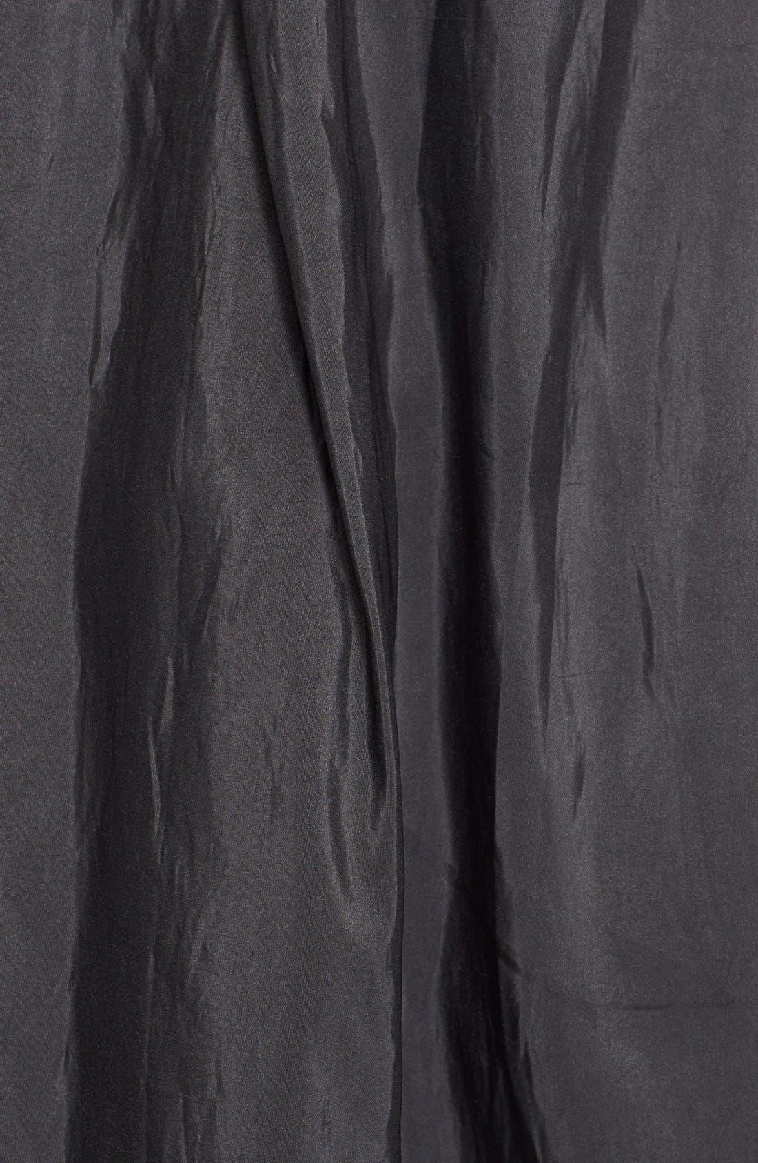 Taffeta Ballgown Skirt,                             Alternate thumbnail 3, color,                             BLACK