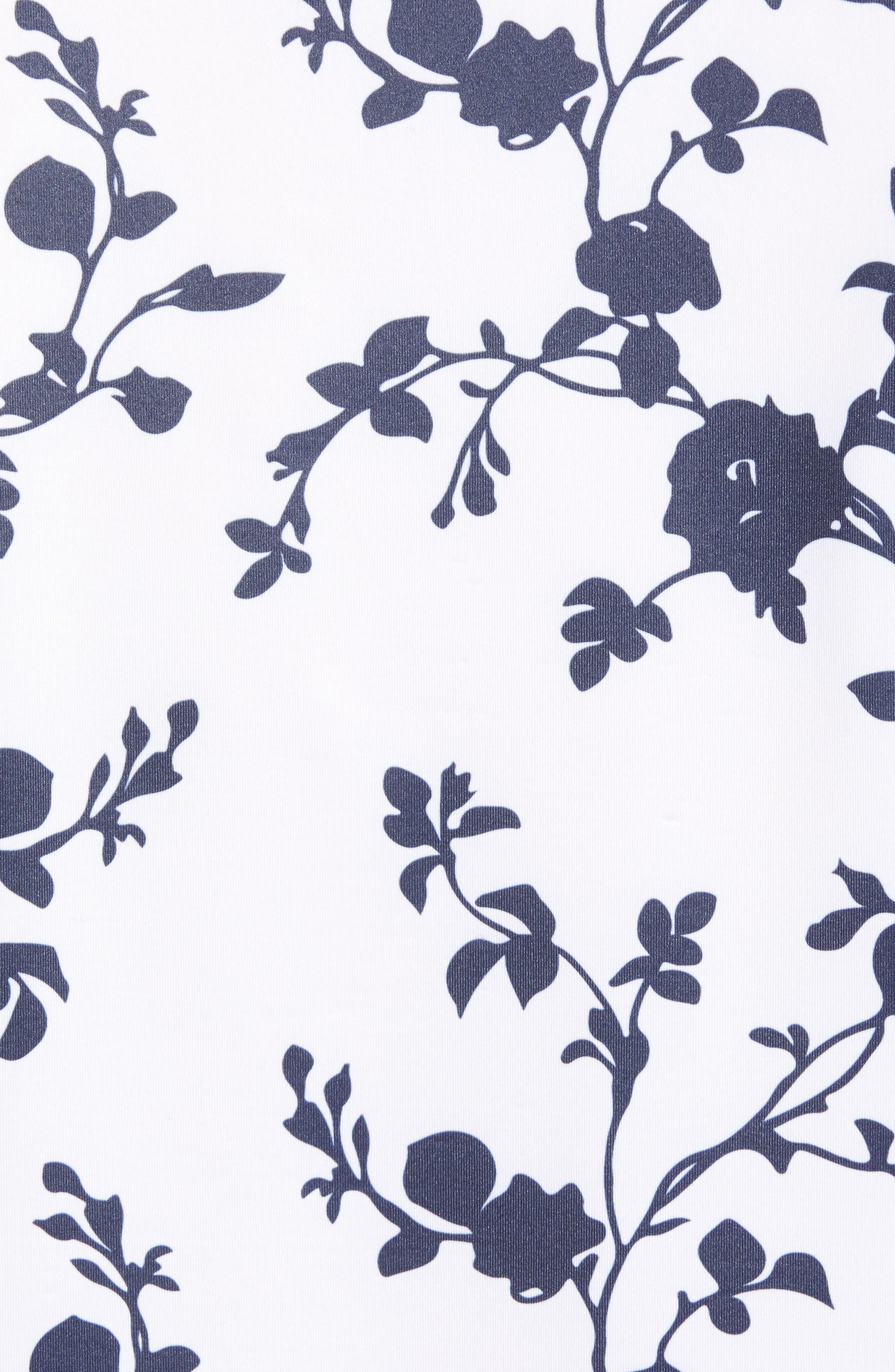 Rosebud Regular Fit Polo,                             Alternate thumbnail 5, color,                             100