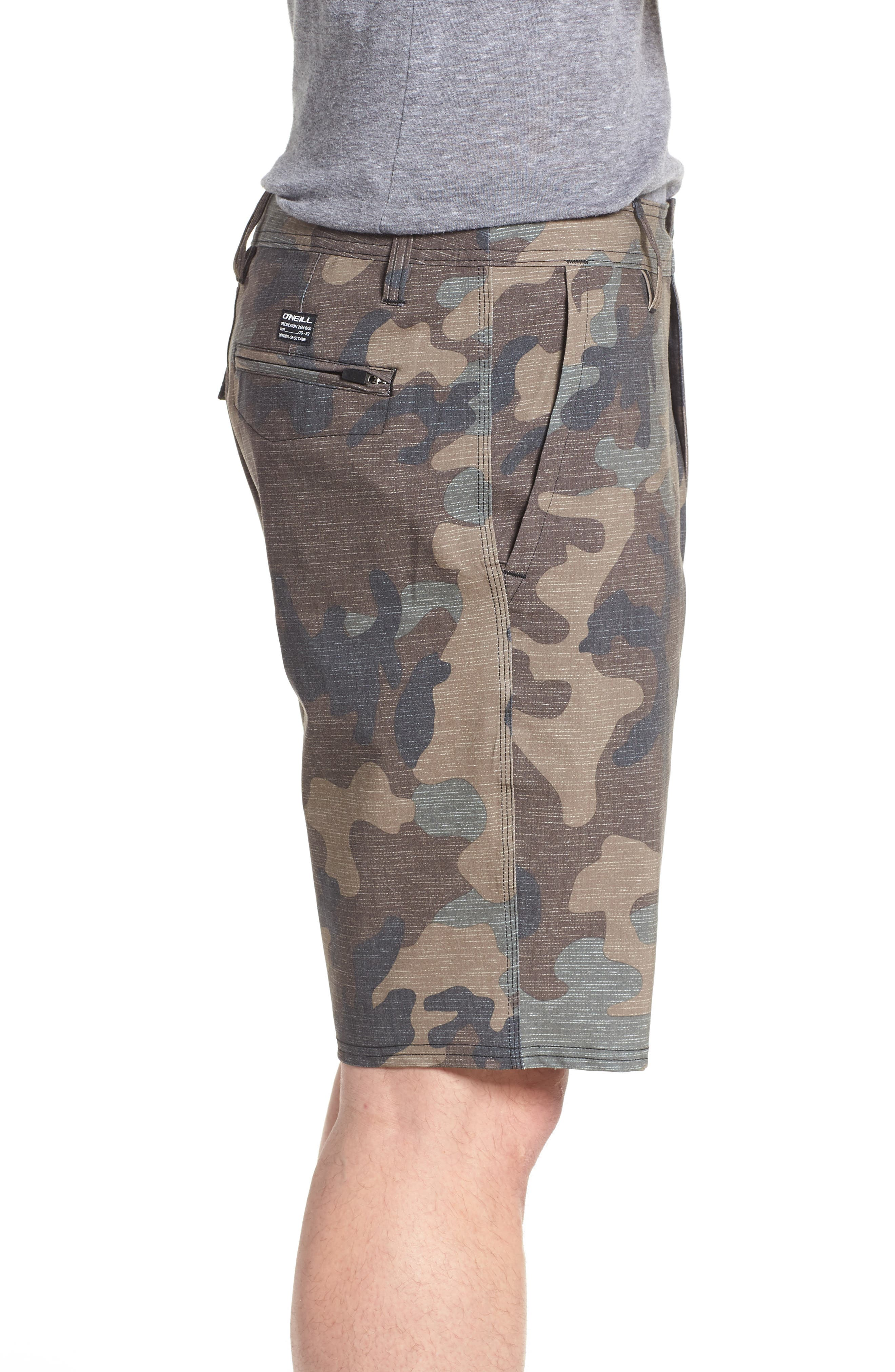 Mixed Hybrid Shorts,                             Alternate thumbnail 3, color,                             CAMO
