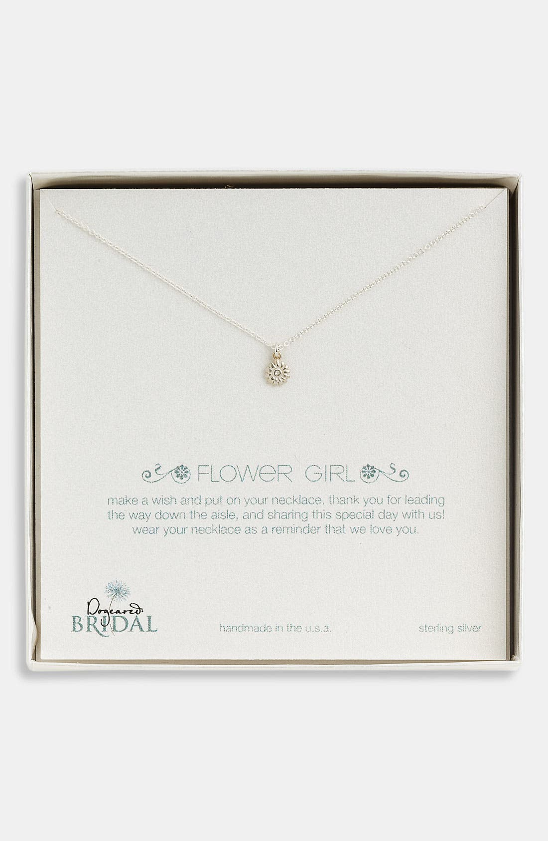 'Flower Girl' Pendant Necklace,                             Alternate thumbnail 5, color,                             040