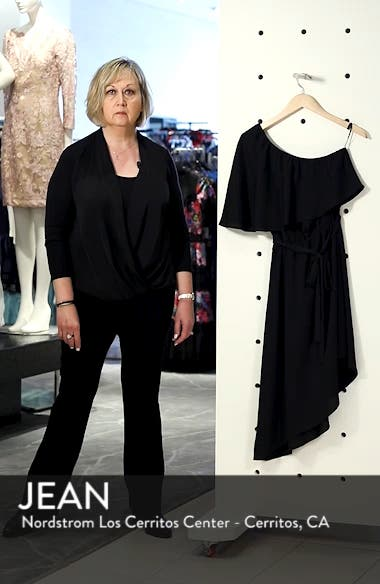One-Shoulder Asymmetrical Dress, sales video thumbnail