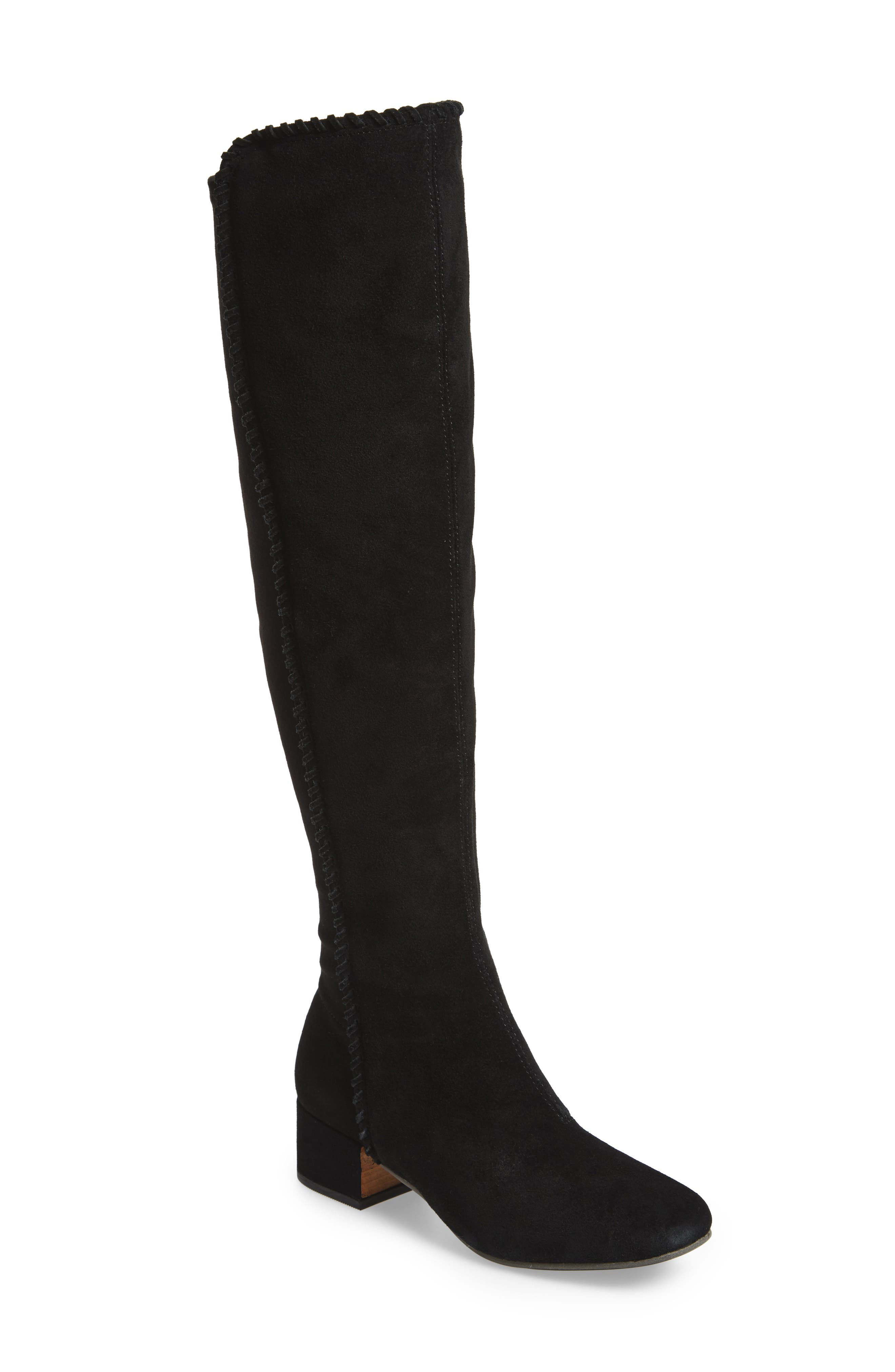 Emery Over the Knee Boot,                             Main thumbnail 1, color,                             001