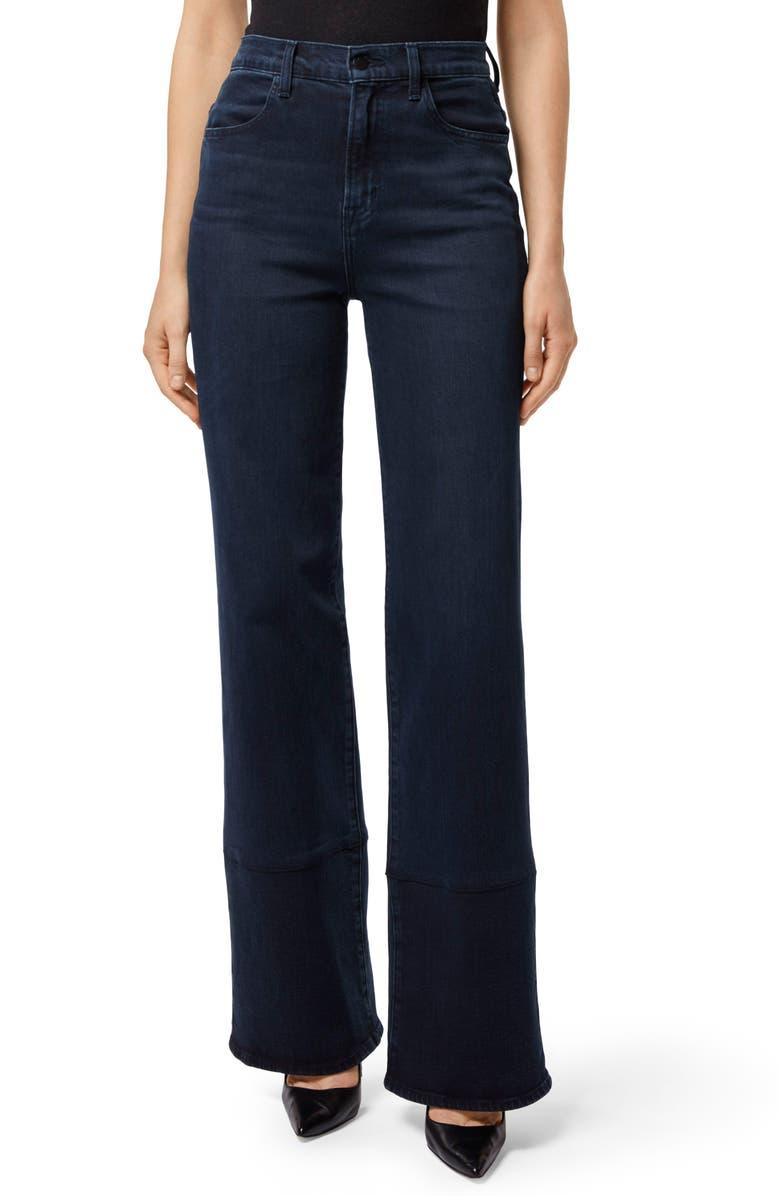 Joan High Waist Wide Leg Jeans,                         Main,                         color, SPARK