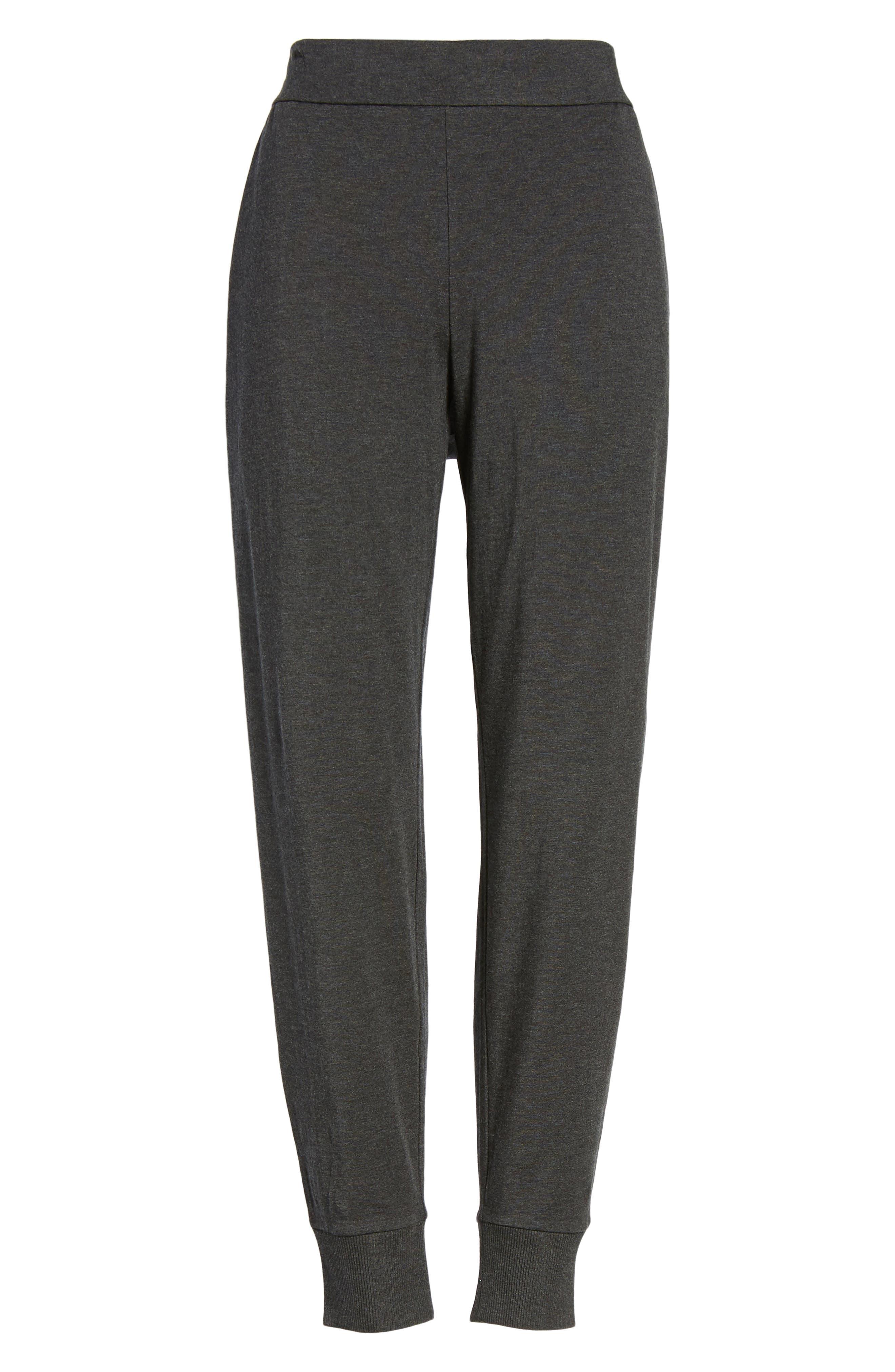 Slouchy Knit Pants,                             Alternate thumbnail 6, color,                             021