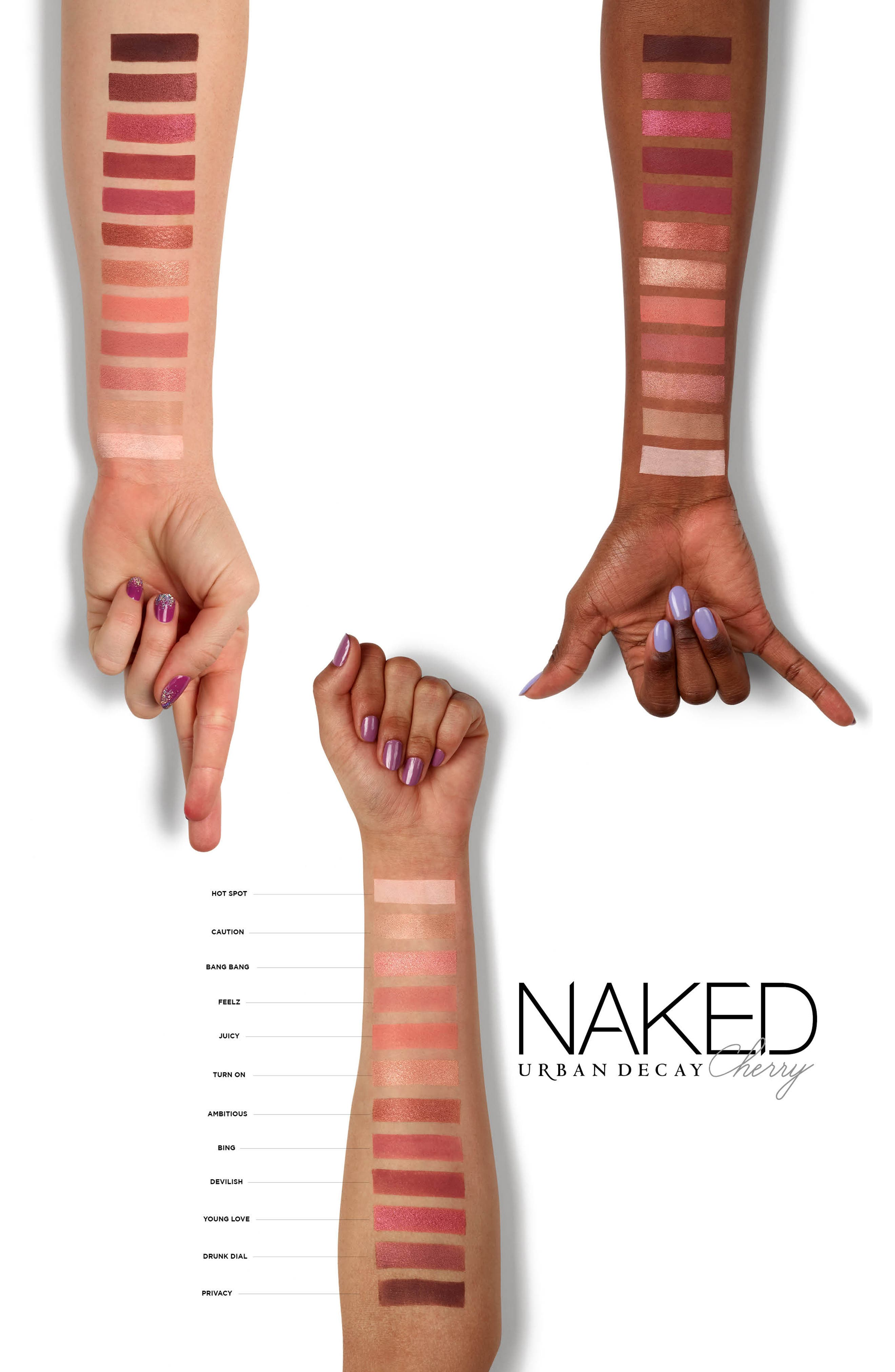 Naked Cherry Palette,                             Alternate thumbnail 2, color,                             NO COLOR