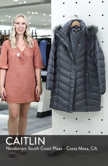 Faux Fur Trim Puffer Jacket, sales video thumbnail