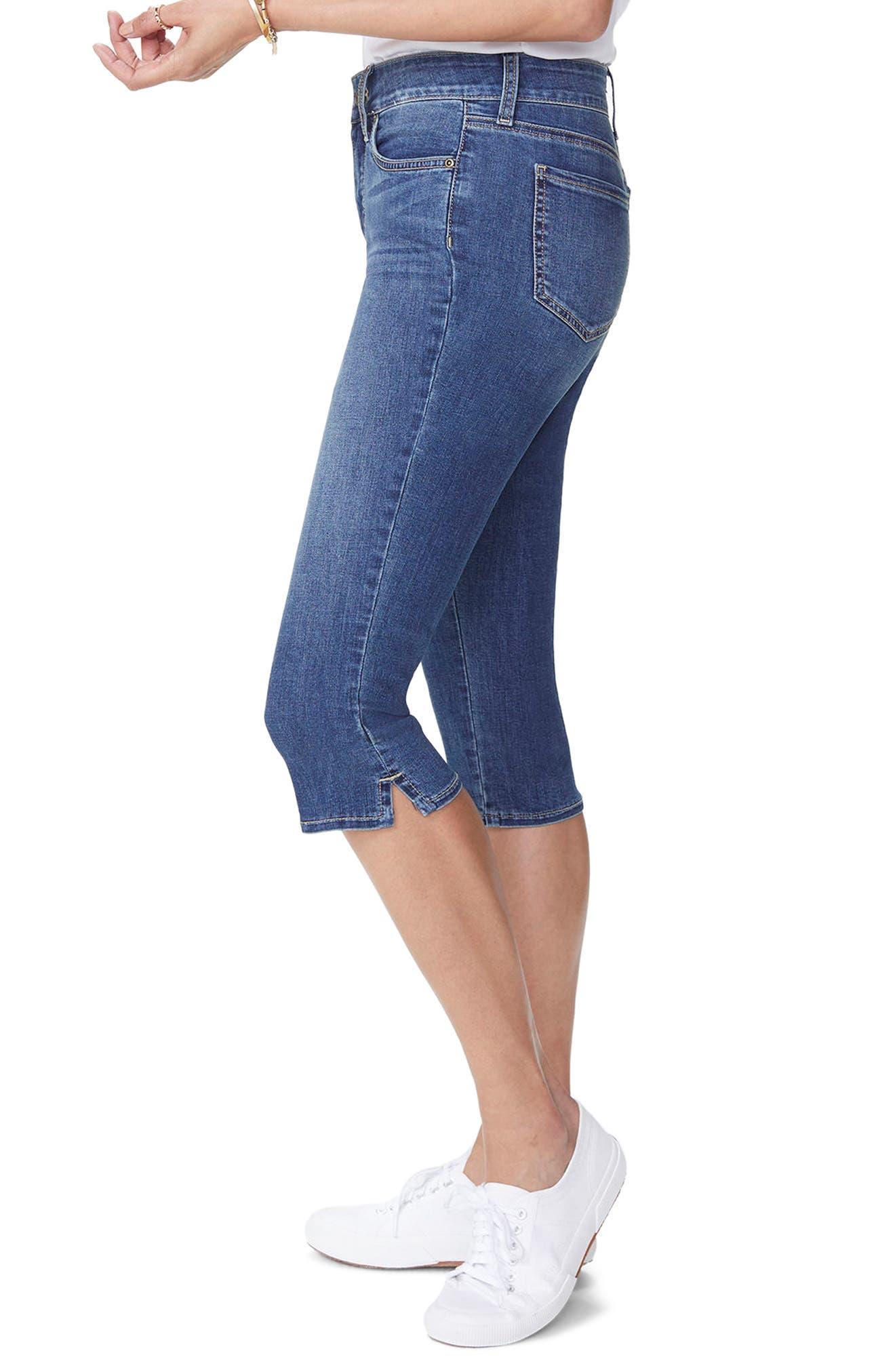 Skinny Capri Jeans,                             Alternate thumbnail 3, color,                             420