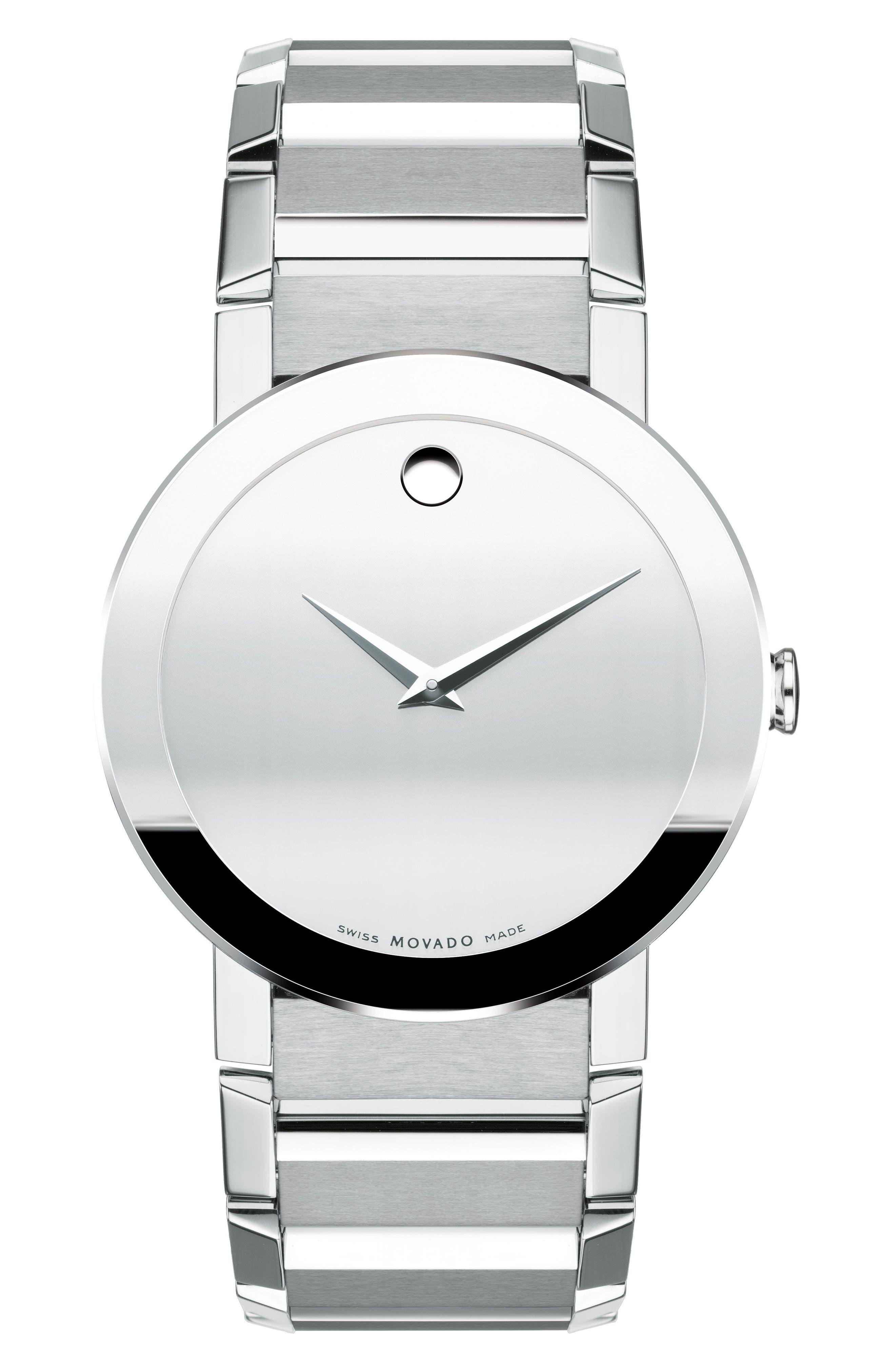 Sapphire Bracelet Watch, 38mm,                             Main thumbnail 1, color,                             040