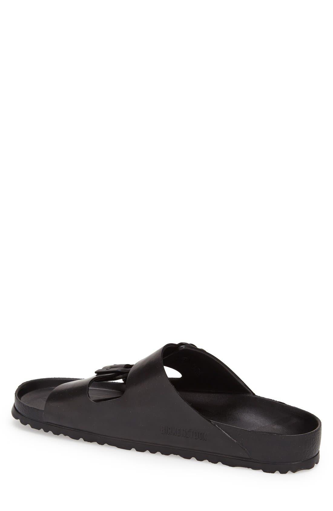 'Essentials - Arizona EVA' Waterproof Slide Sandal,                             Alternate thumbnail 2, color,                             BLACK