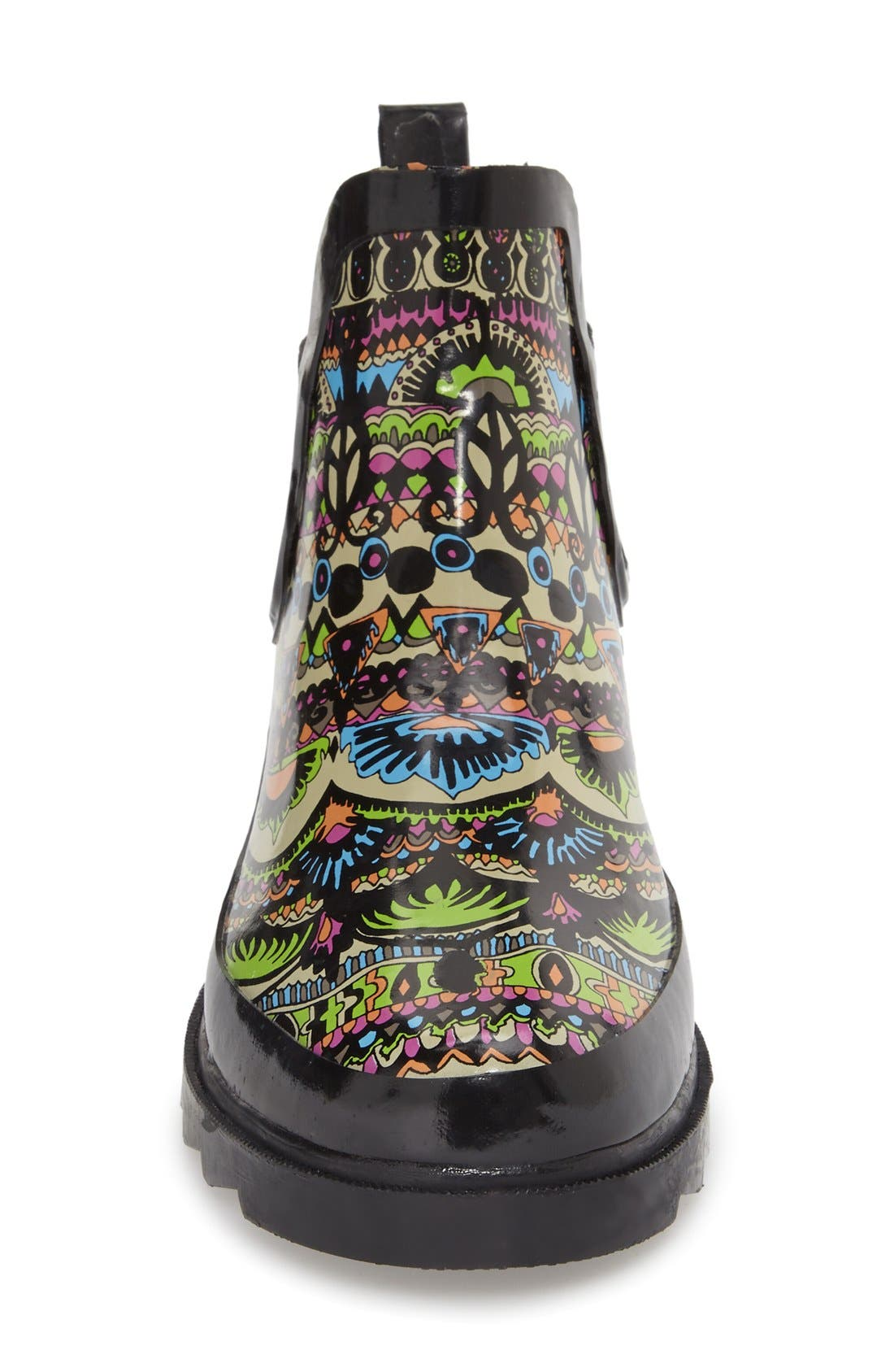 'Rhyme' Waterproof Rain Boot,                             Alternate thumbnail 50, color,