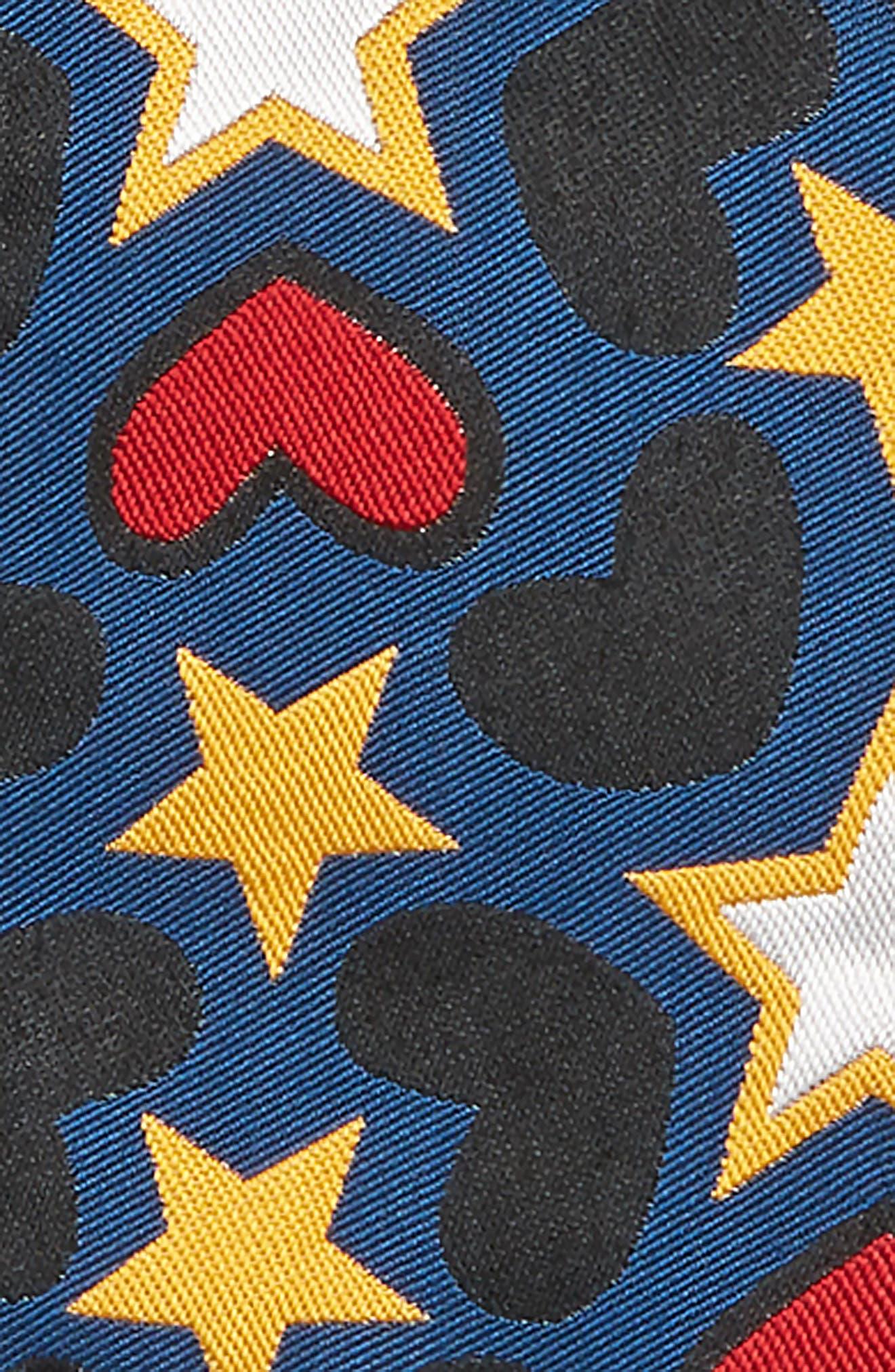 Joan Heart & Star Bomber Jacket,                             Alternate thumbnail 2, color,                             MULTI