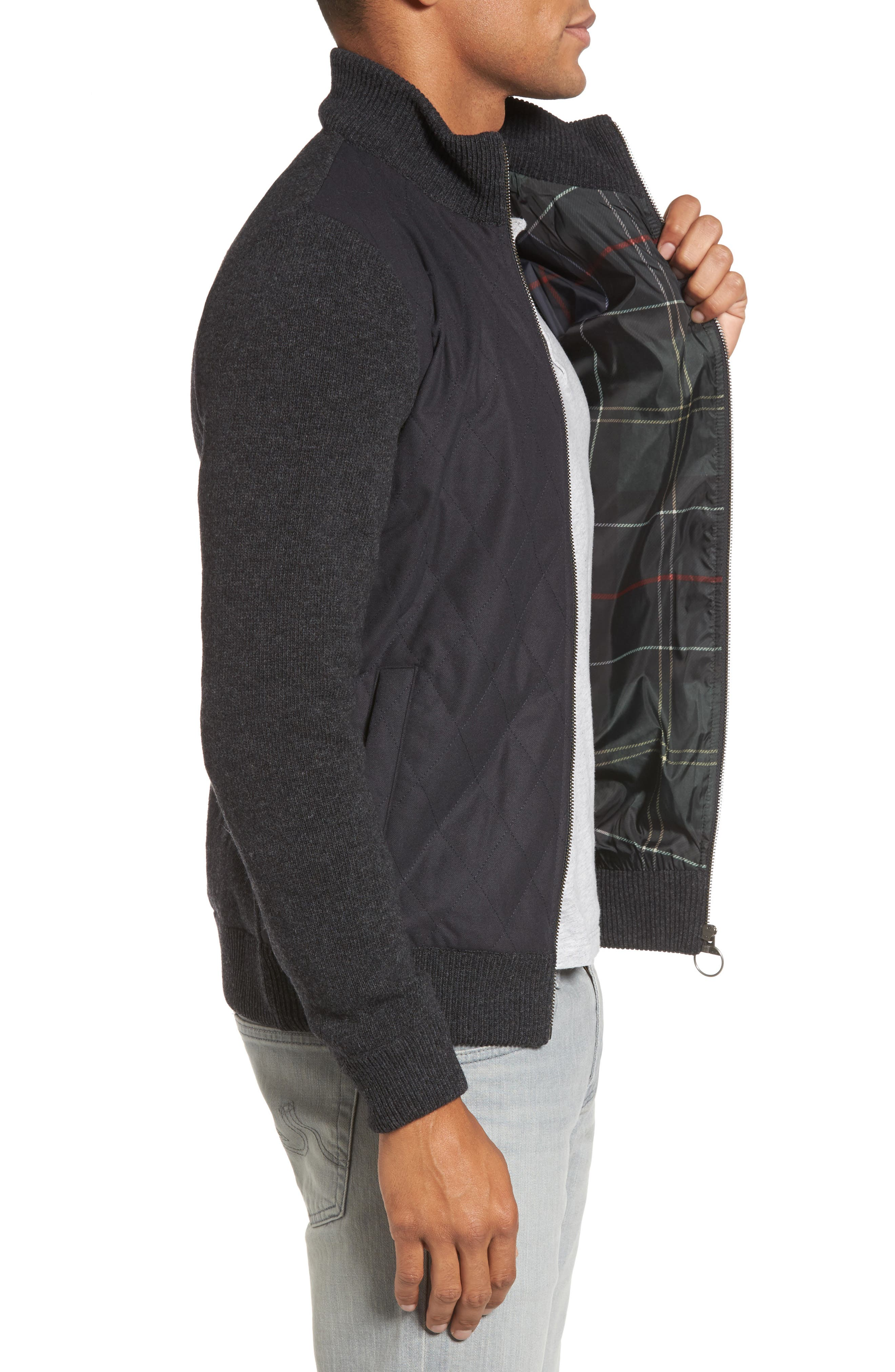 Culzean Wool Jacket,                             Alternate thumbnail 3, color,                             010