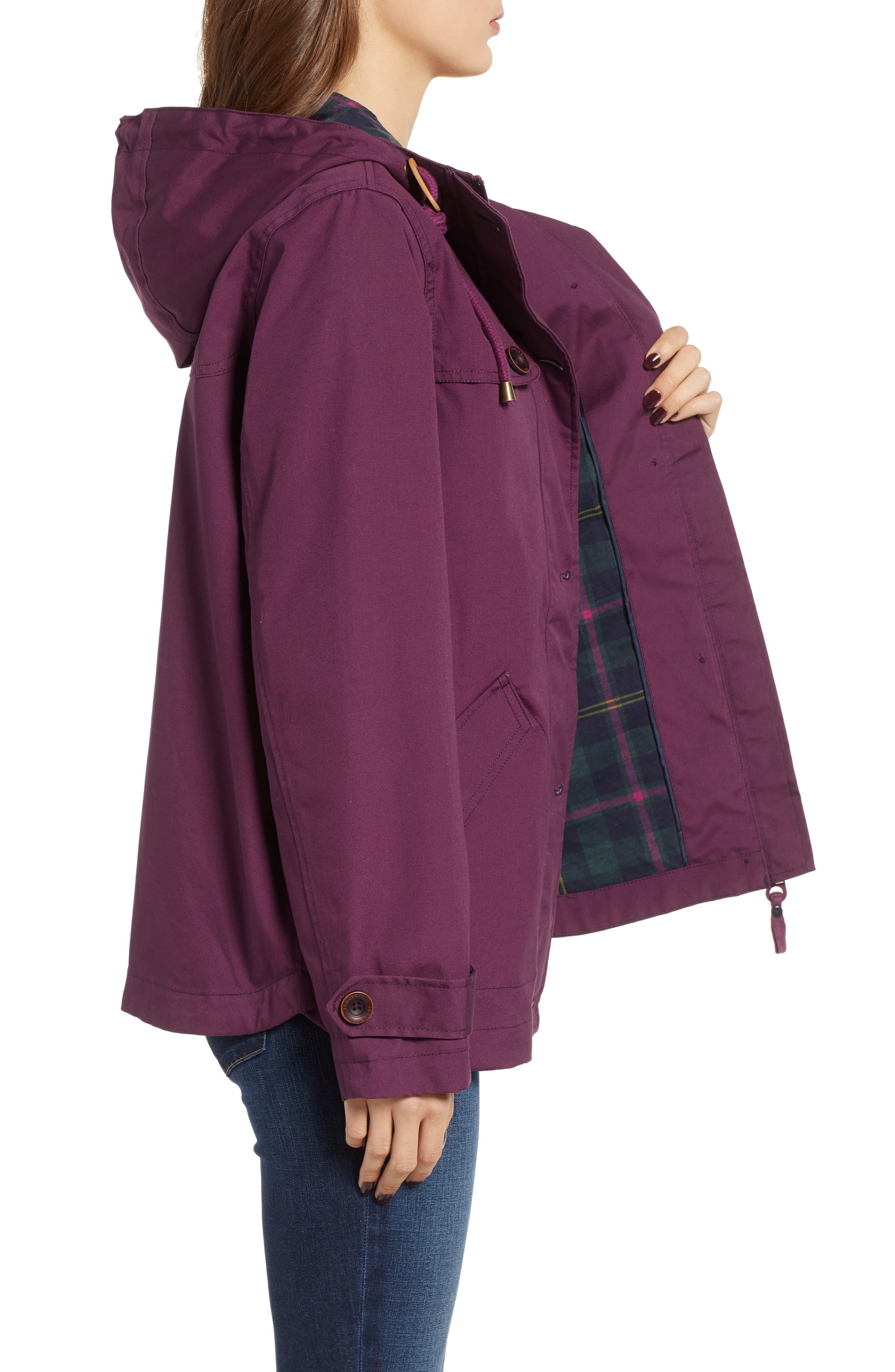 JOULES,                             Right as Rain Waterproof Hooded Jacket,                             Alternate thumbnail 3, color,                             930