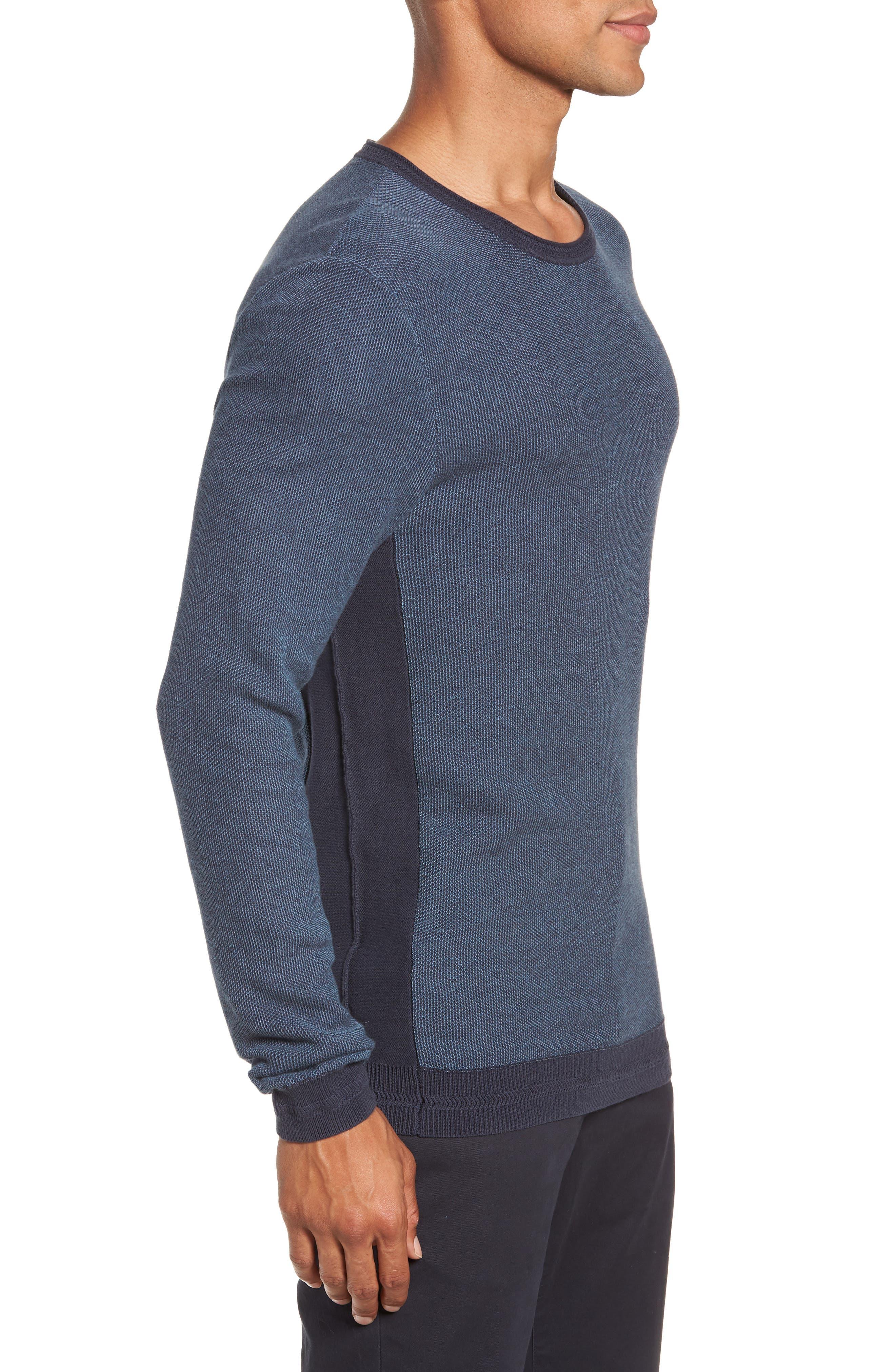 Space Dye Slim Fit Sweater,                             Alternate thumbnail 8, color,