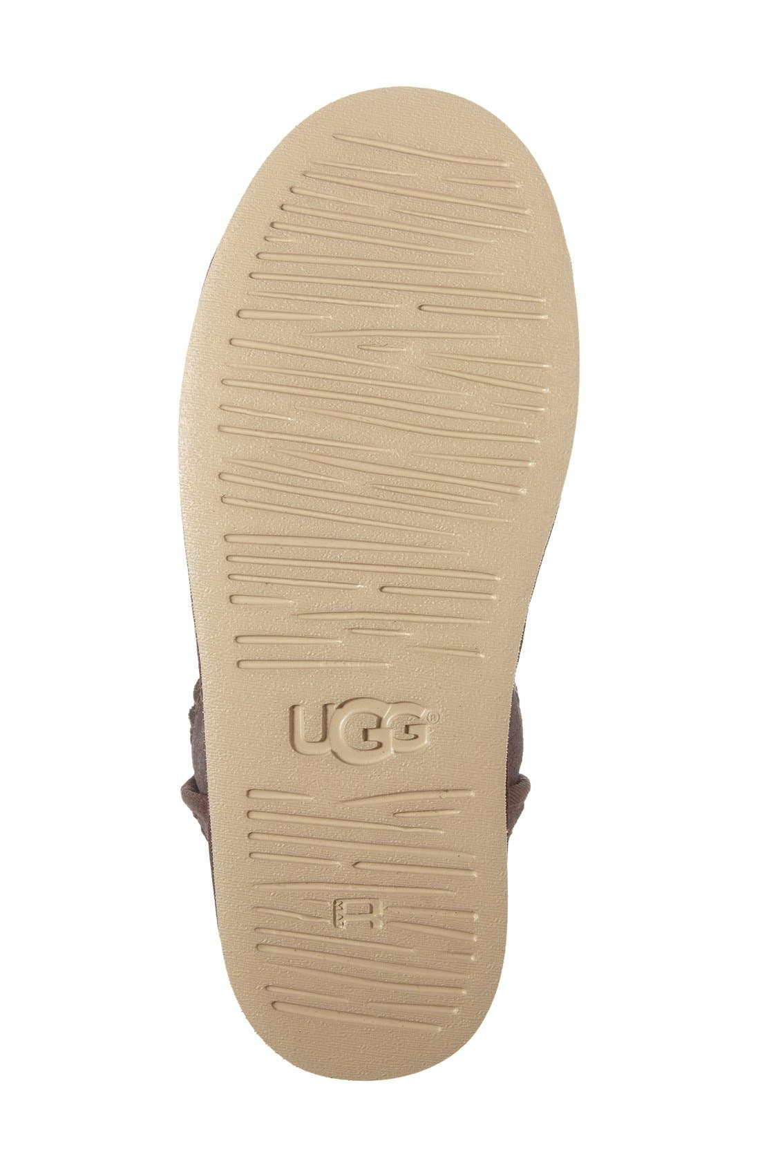 Eliss Water Resistant Suede Boot,                             Alternate thumbnail 8, color,