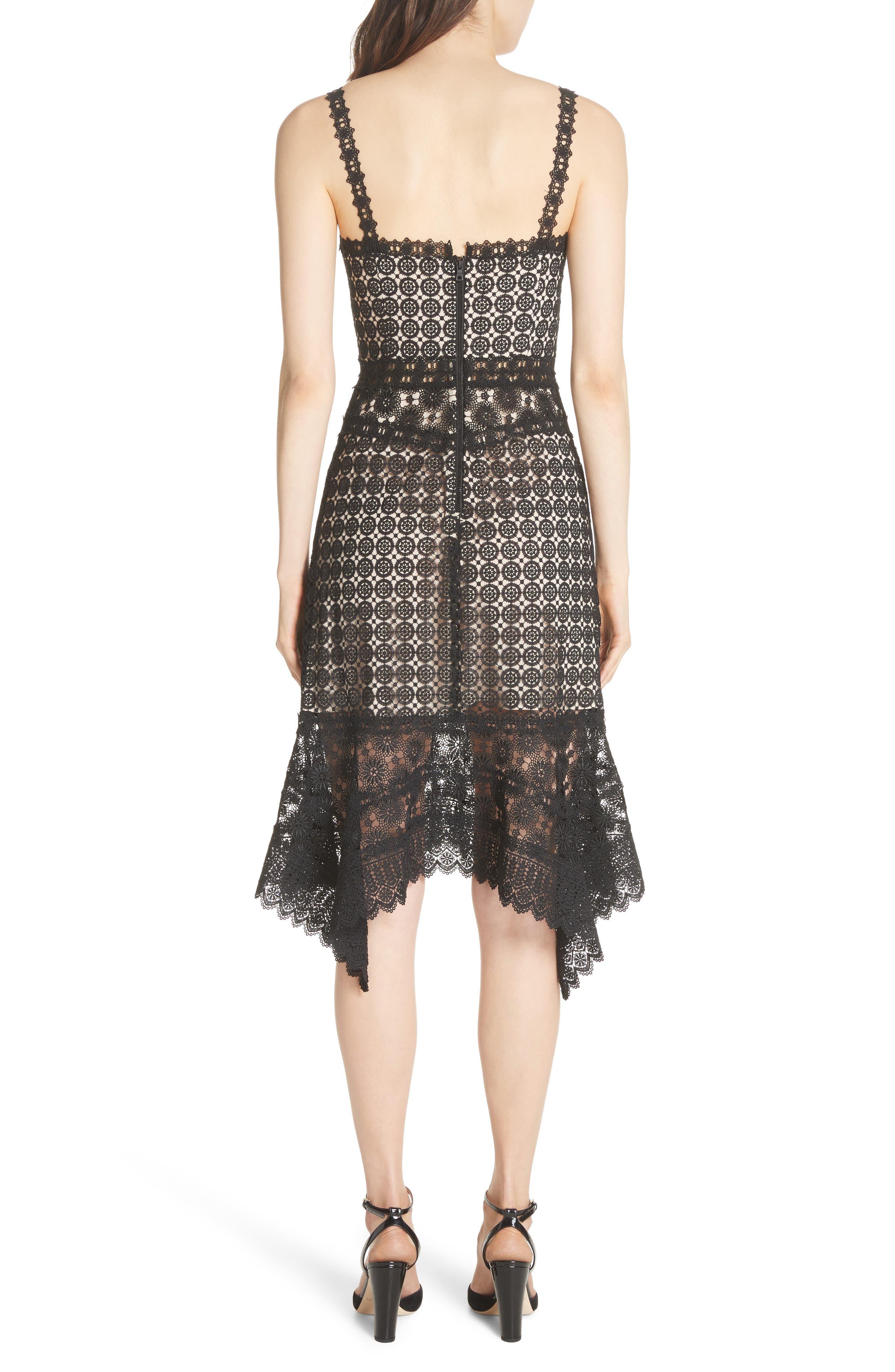 Tamika Handkerchief Lace Dress,                             Alternate thumbnail 2, color,